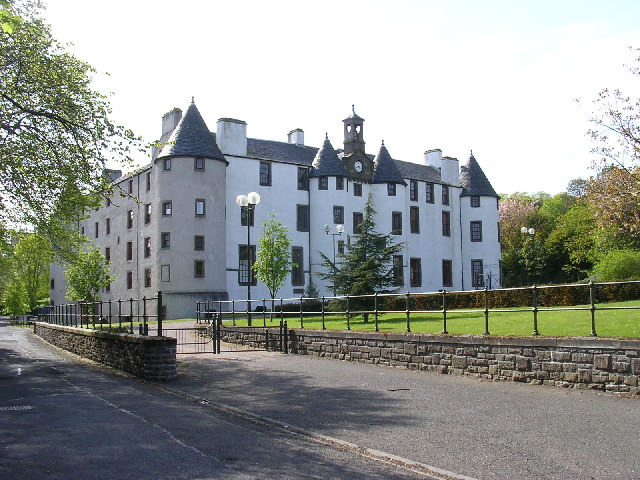 Dudhope castle - geograph.org.uk - 9790