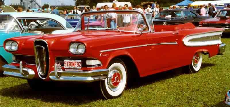 Edsel Convertible (1959).