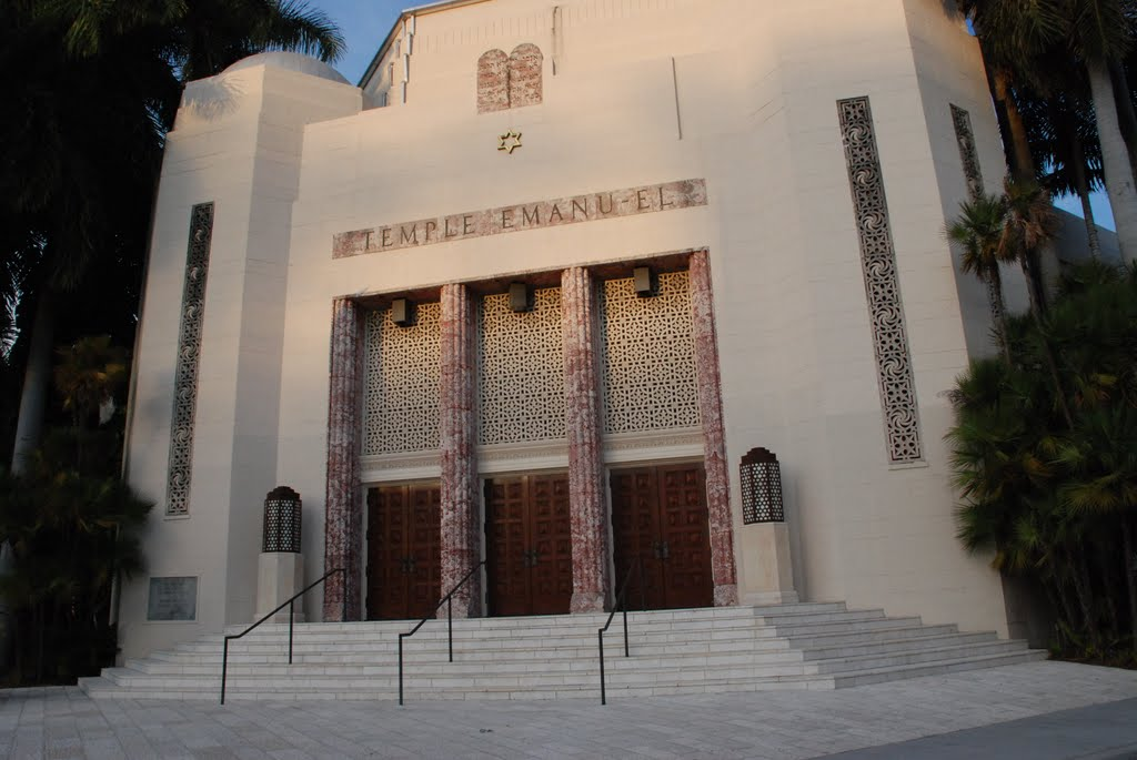 temple emanu-el  miami beach  florida