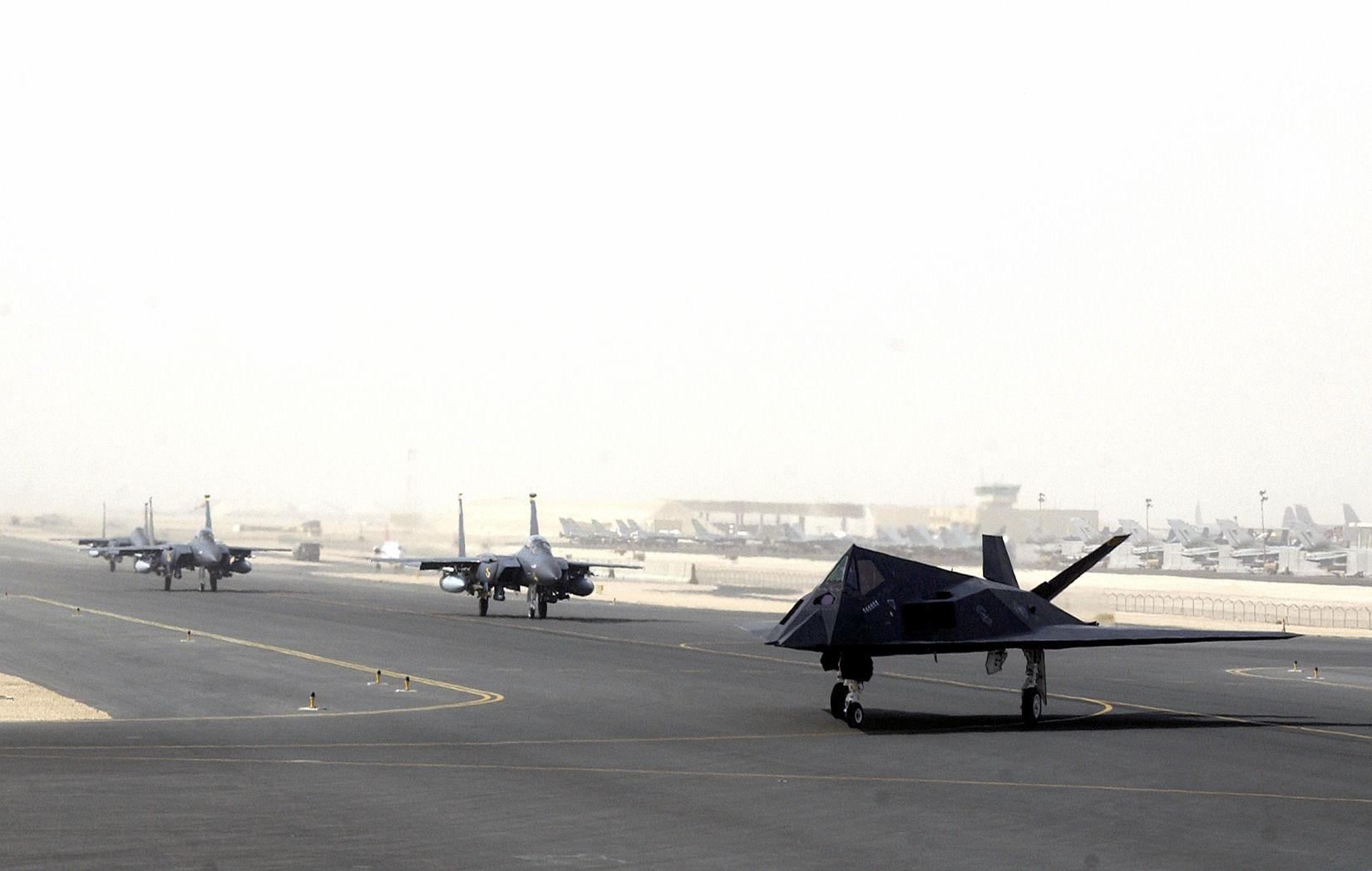 Al udeid airbase