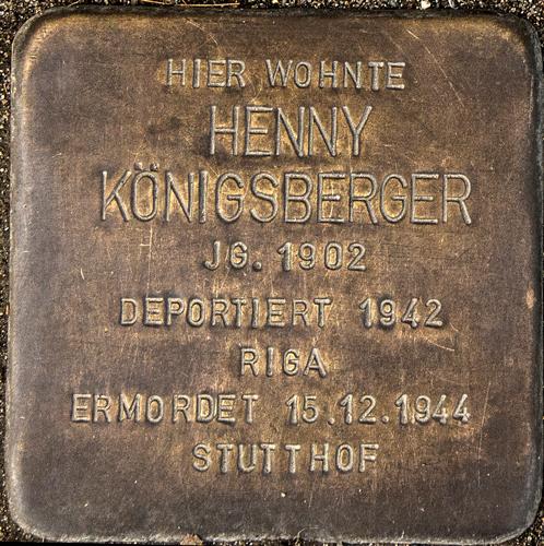 Faßstraße 22 Koenigsberger Henny.jpg