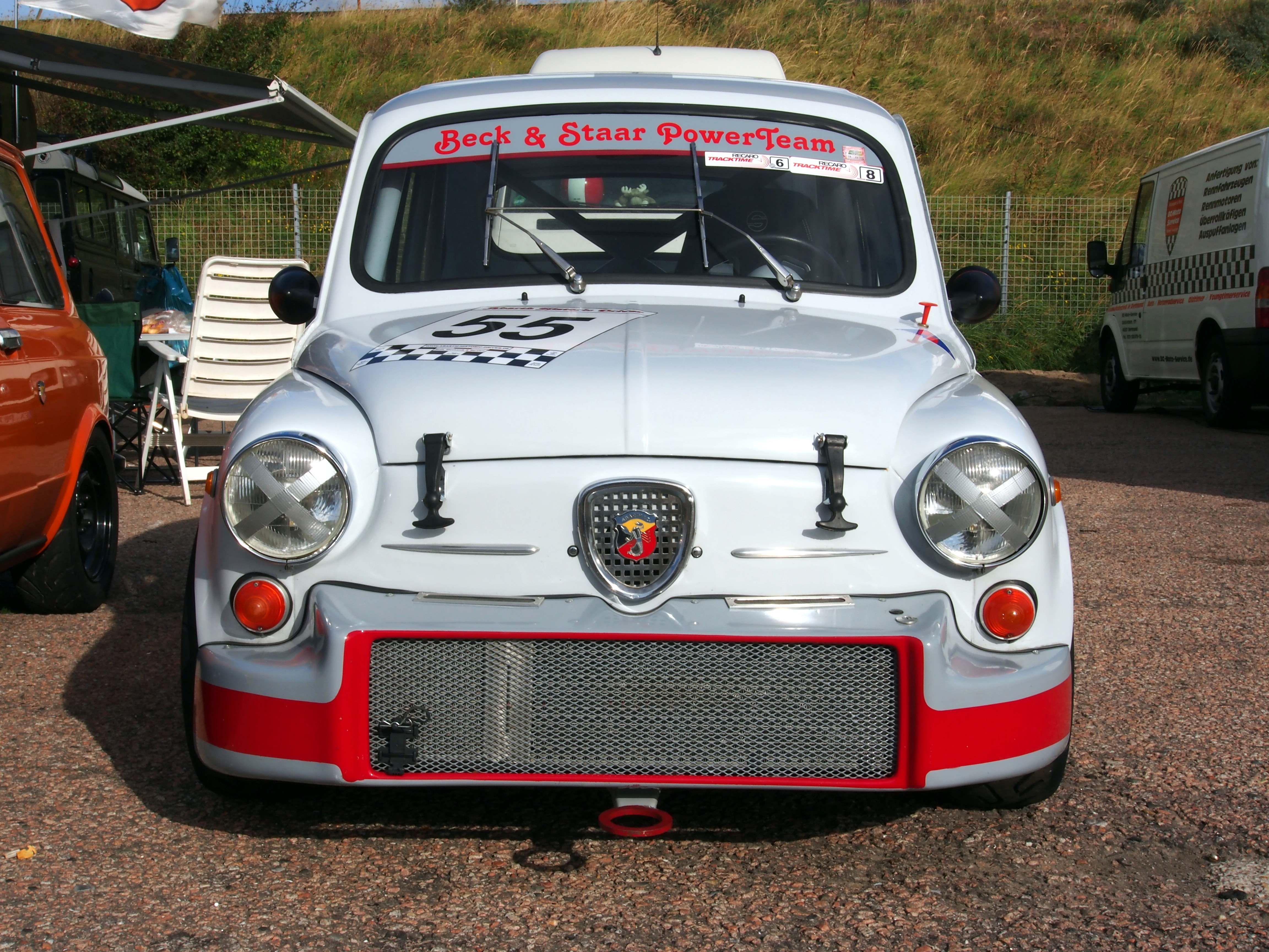 File Fiat Abarth 1000 Tc Grey Pic3 Jpg Wikimedia Commons