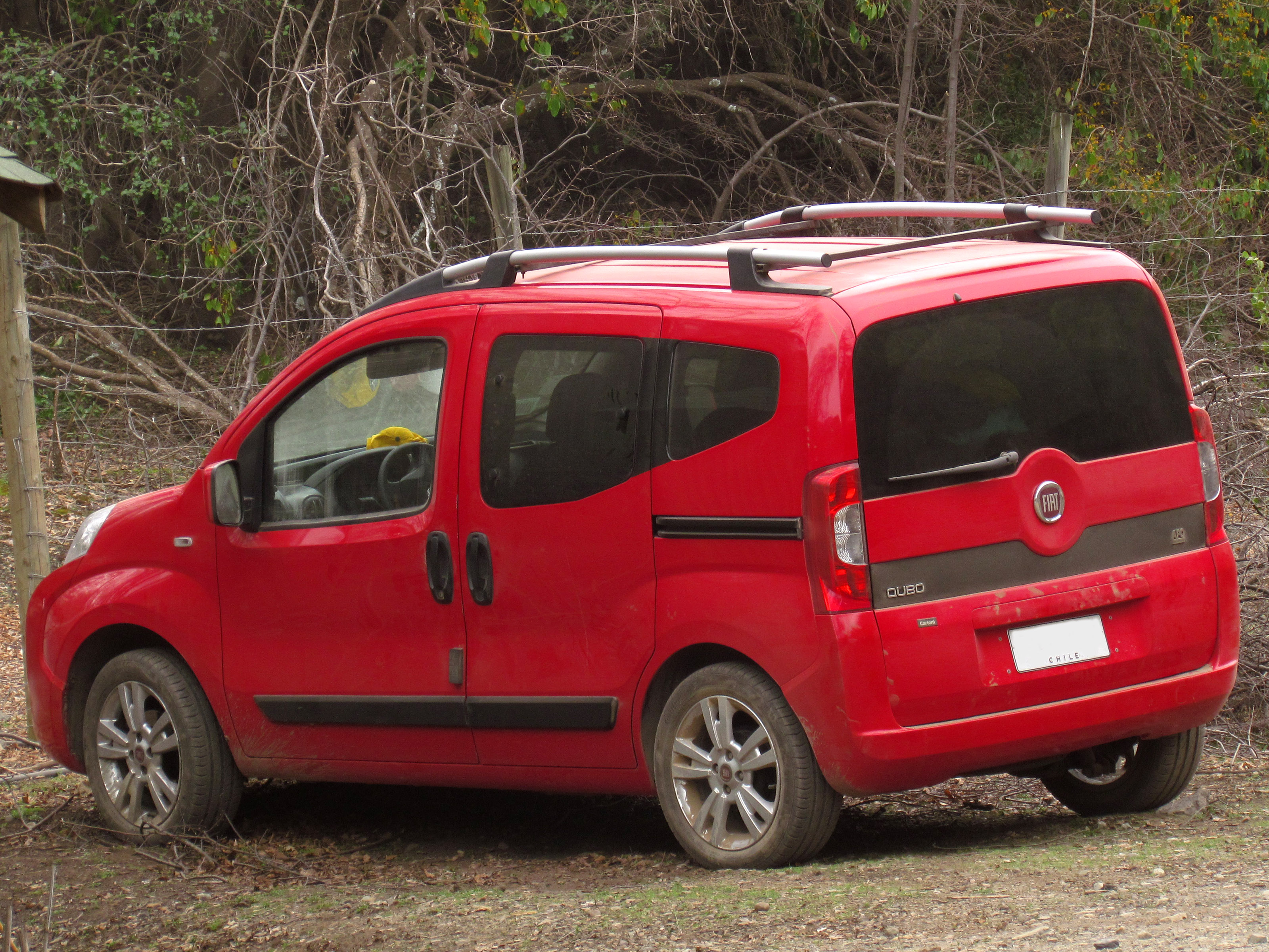 Sizes of Tires and Rims for Fiat Qubo - Cararac.com