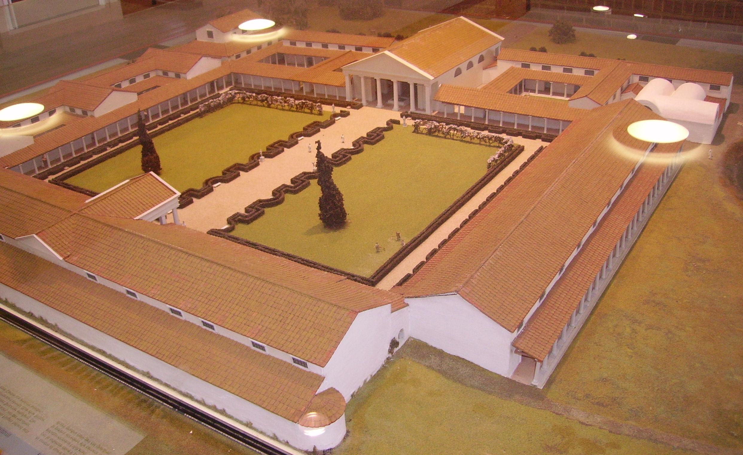 Villa romaine wikiwand - Cuisine de la rome antique ...