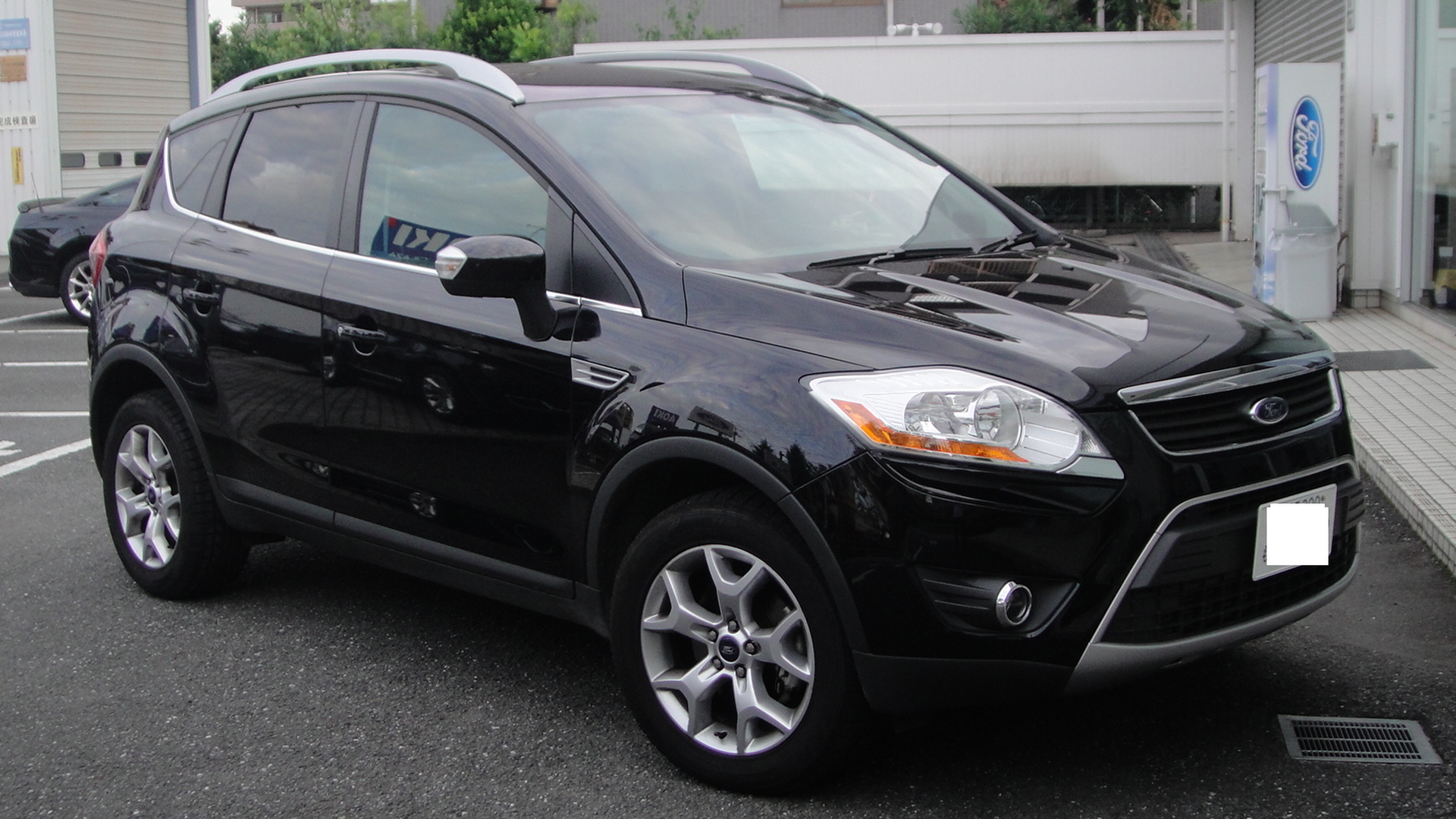 file ford kuga front tx wikimedia commons. Black Bedroom Furniture Sets. Home Design Ideas