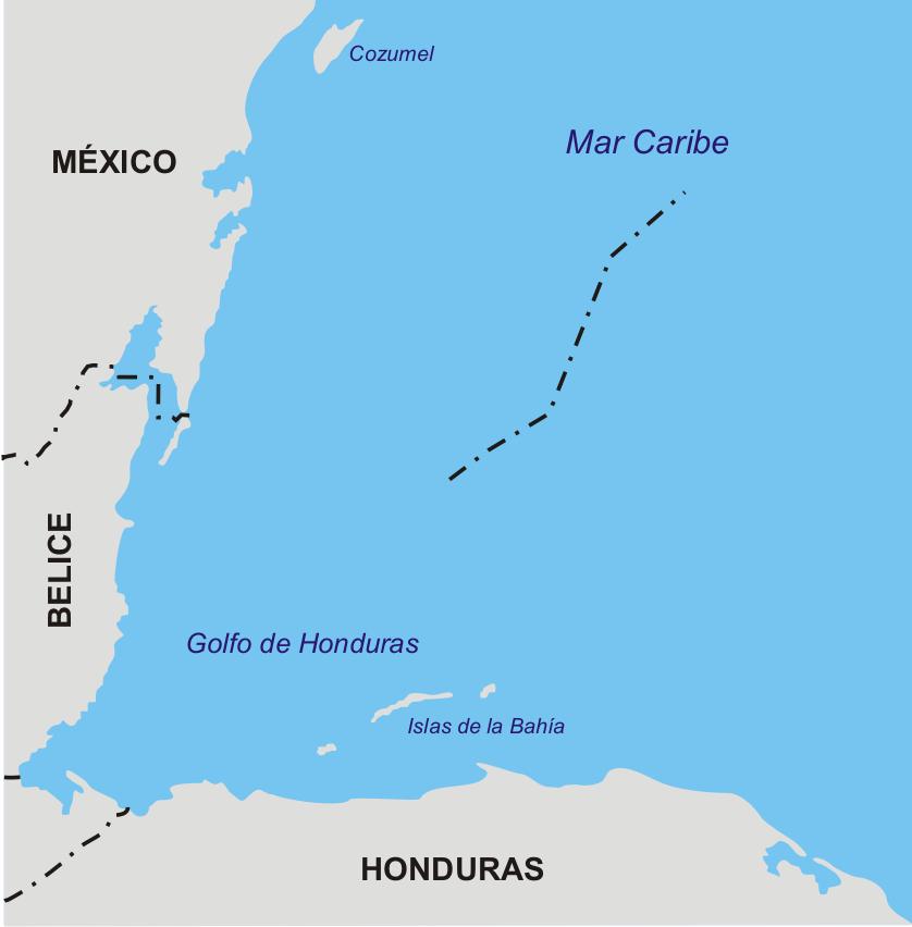 Honduras Mexico Map.File Frontera Honduras Mexico Png Wikimedia Commons