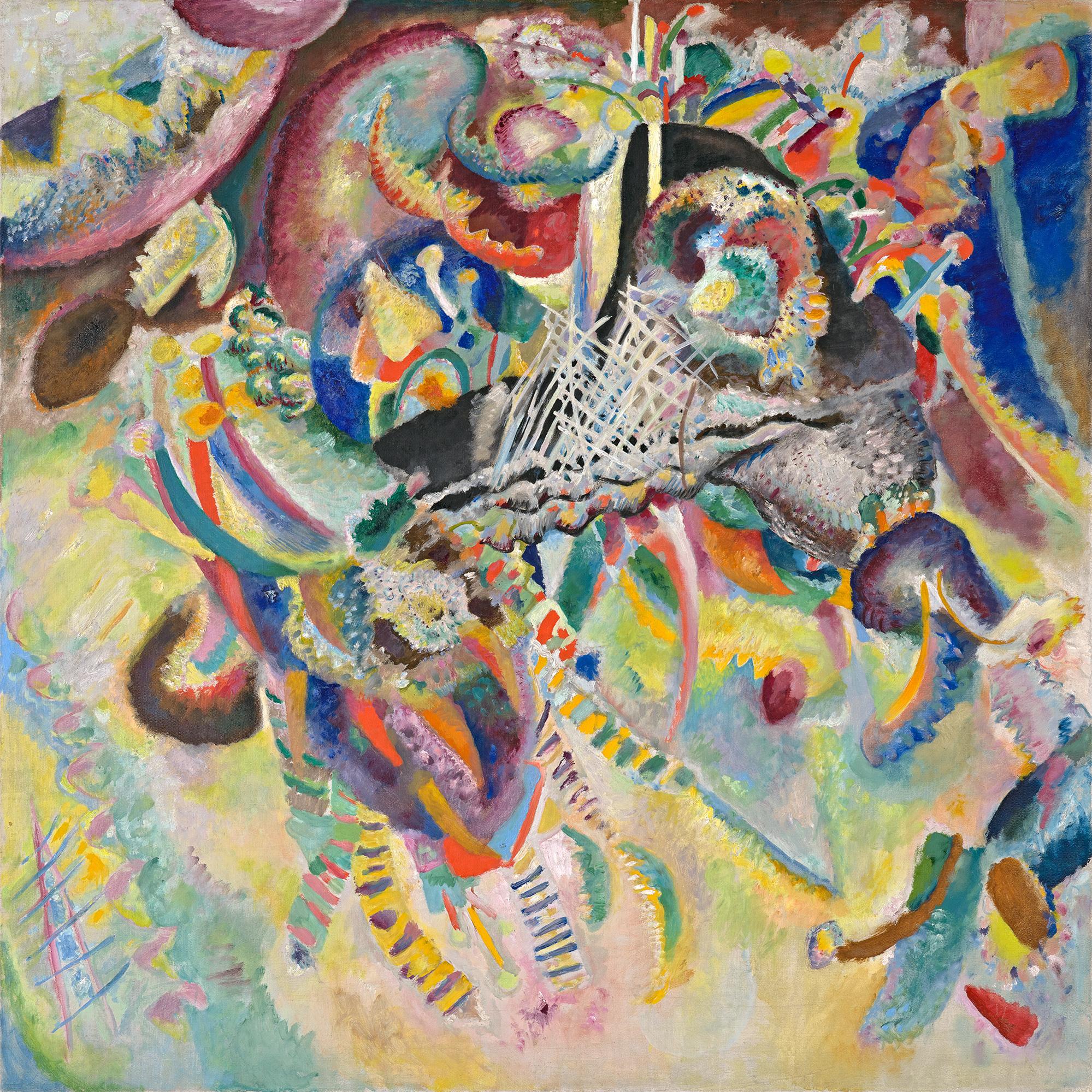 "Kandinsky, ""Fugue"", (1914), Fondation Beyeler, Riehen."