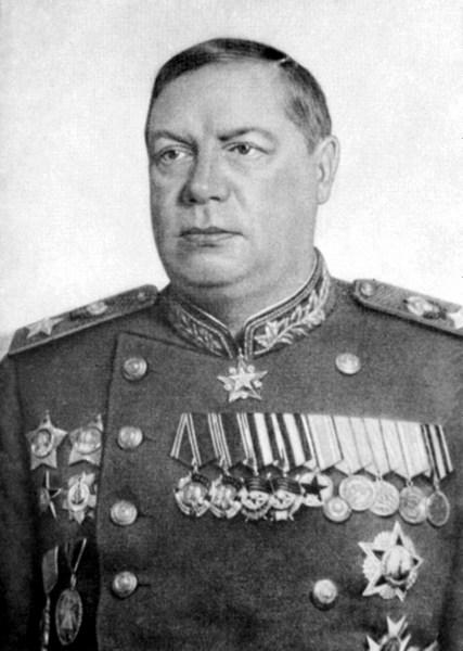 Fyodor Tolbukhin Soviet military commander