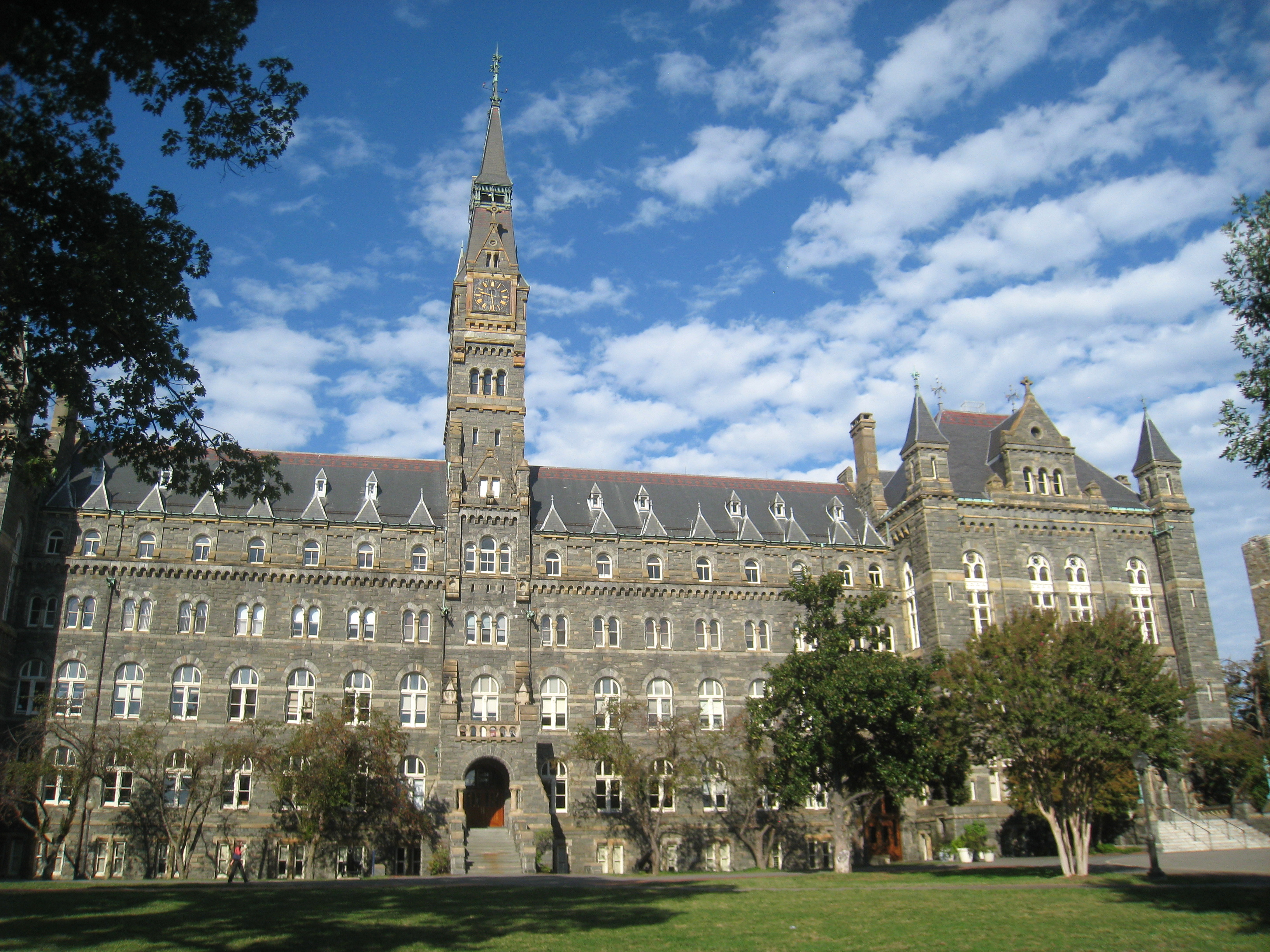 georgetown essays that worked