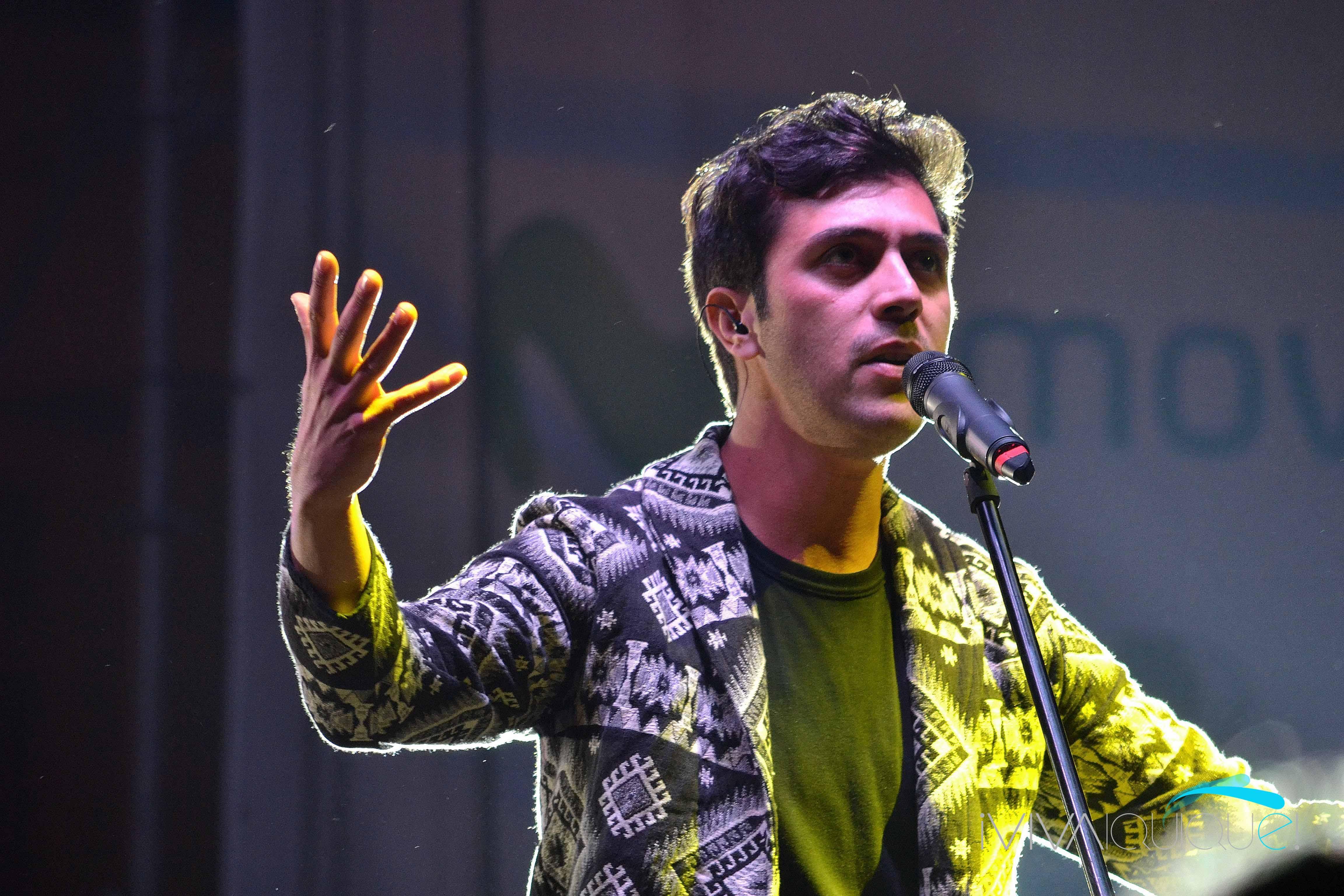 Gepe en una presentación en Iquique (2013).