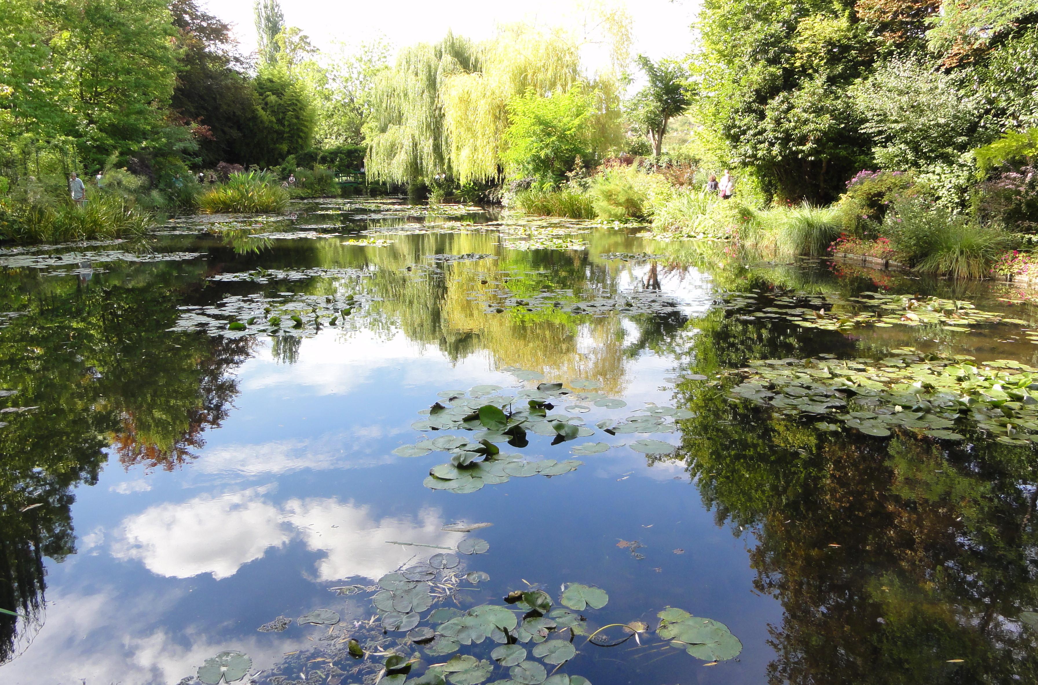 Claude Monet Garden Giverny Garden Ftempo