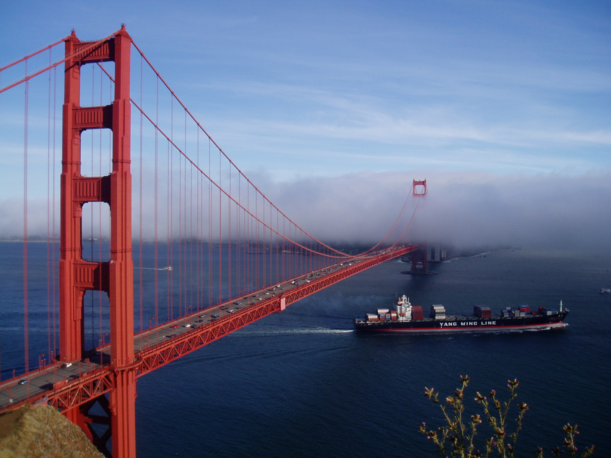 how high is the golden gate bridge