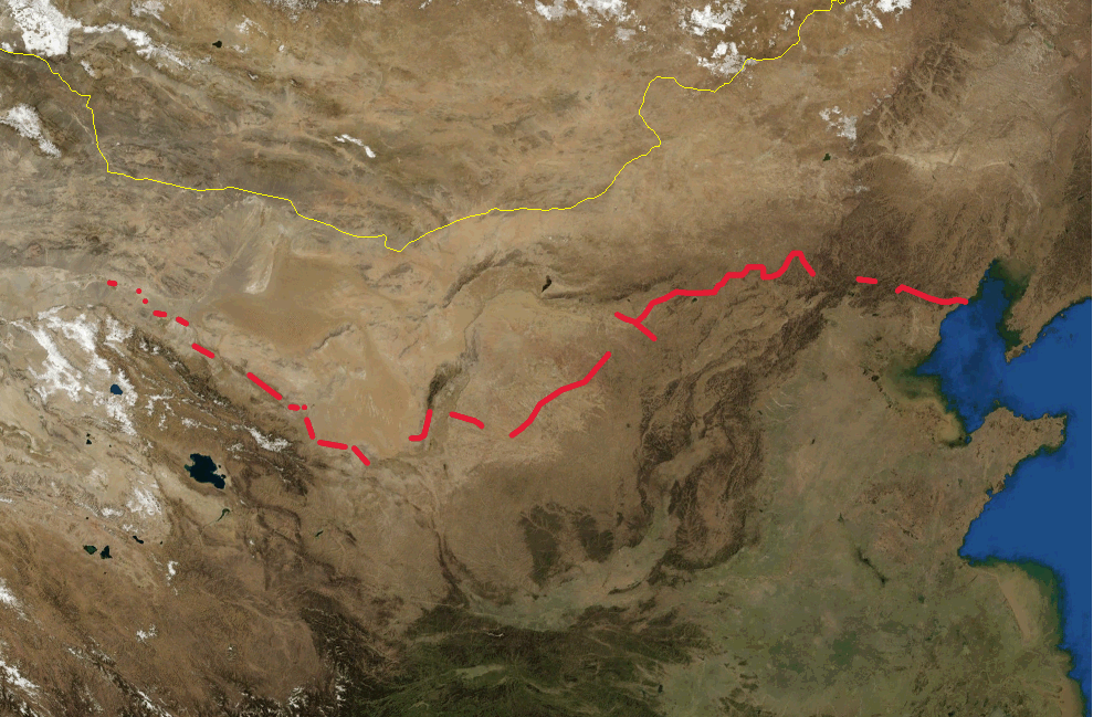 Datei:Great Wall of China location map blank.PNG – Wikipedia