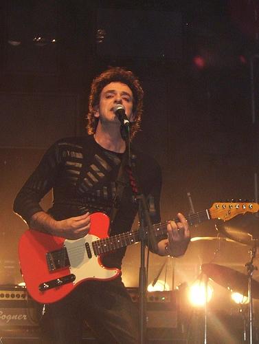 Cerati en la gira de su álbum ''Ahí vamos'', en Buenos Aires, el 10 de octubre de 2006.