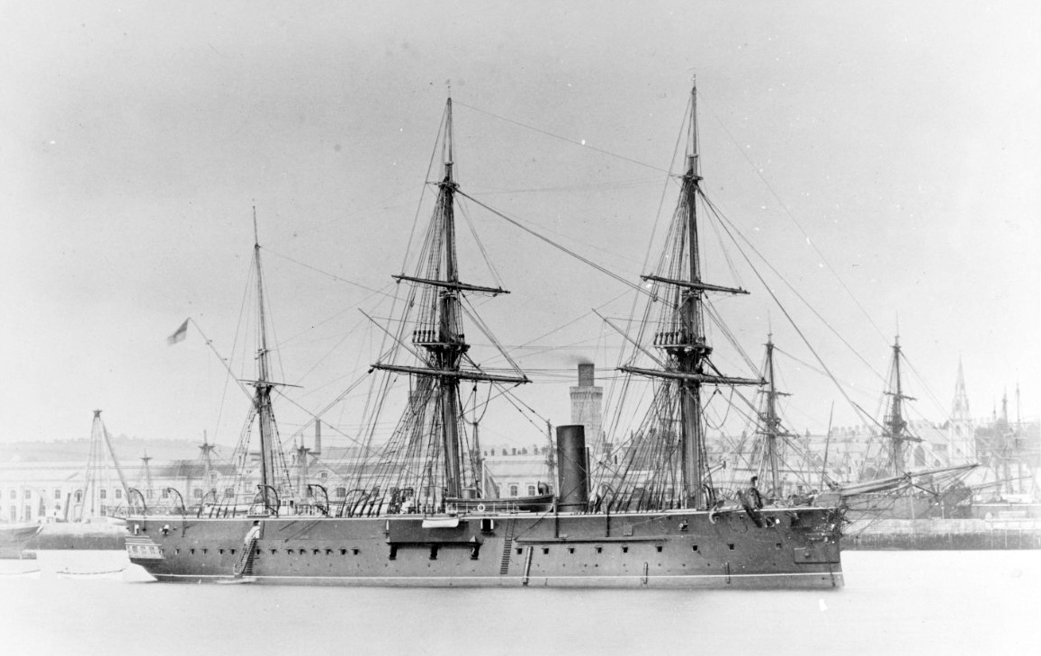 Hms Iron Duke 1870 Wikipedia
