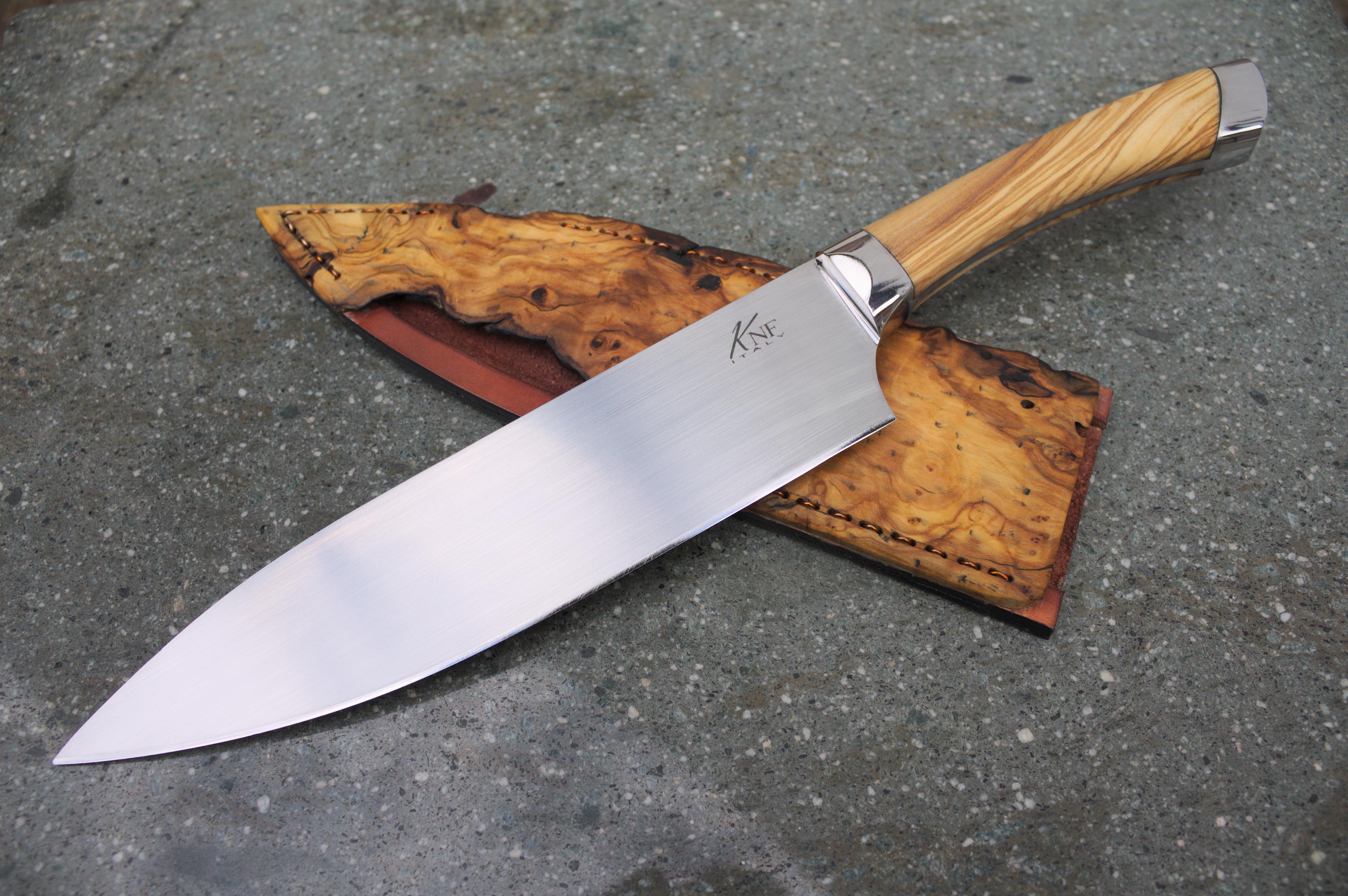 File:Handmade chef knife.jpg - Wikimedia Commons