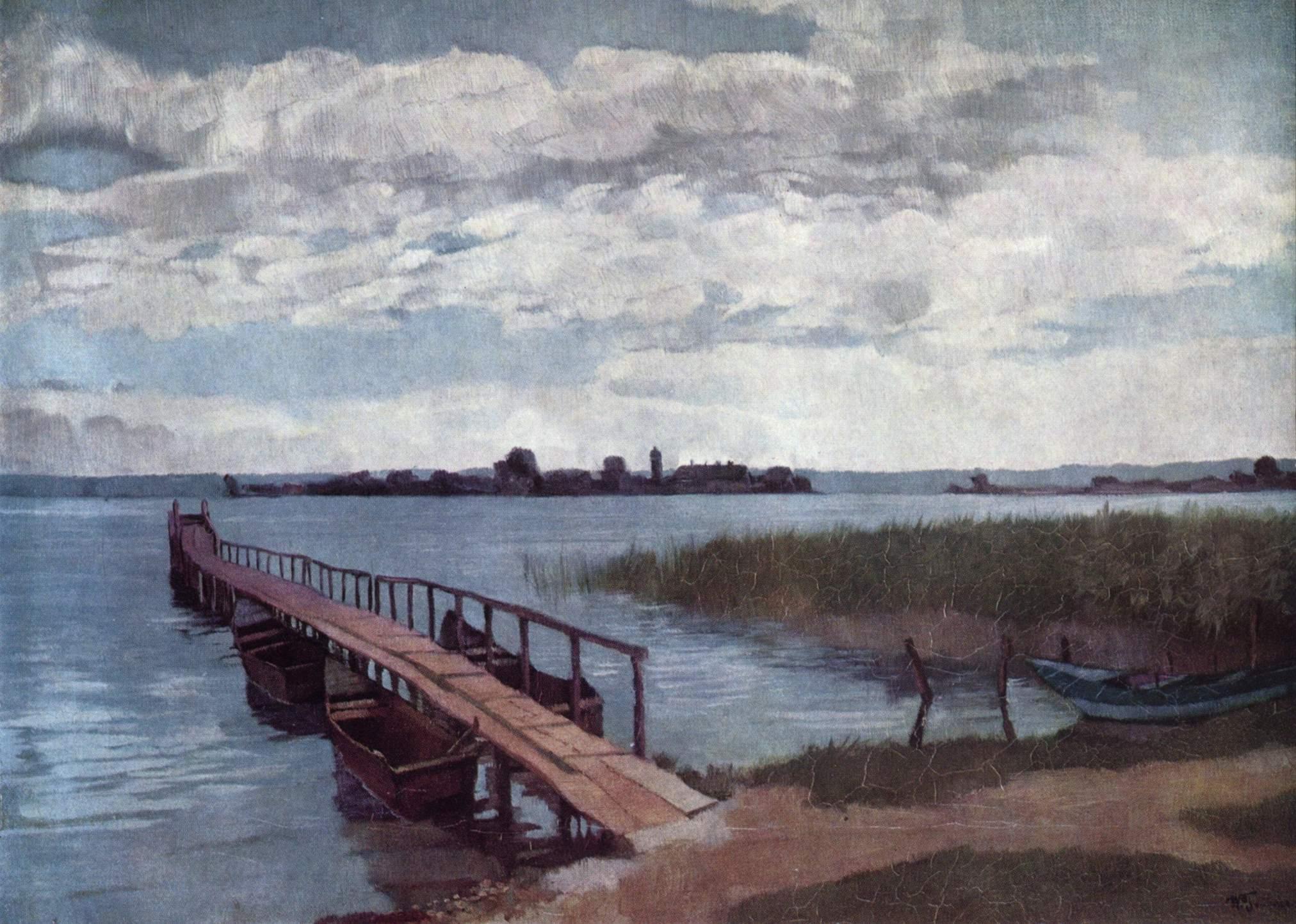Landschaftsmalerei realismus  Wilhelm Trübner – Wikipedia
