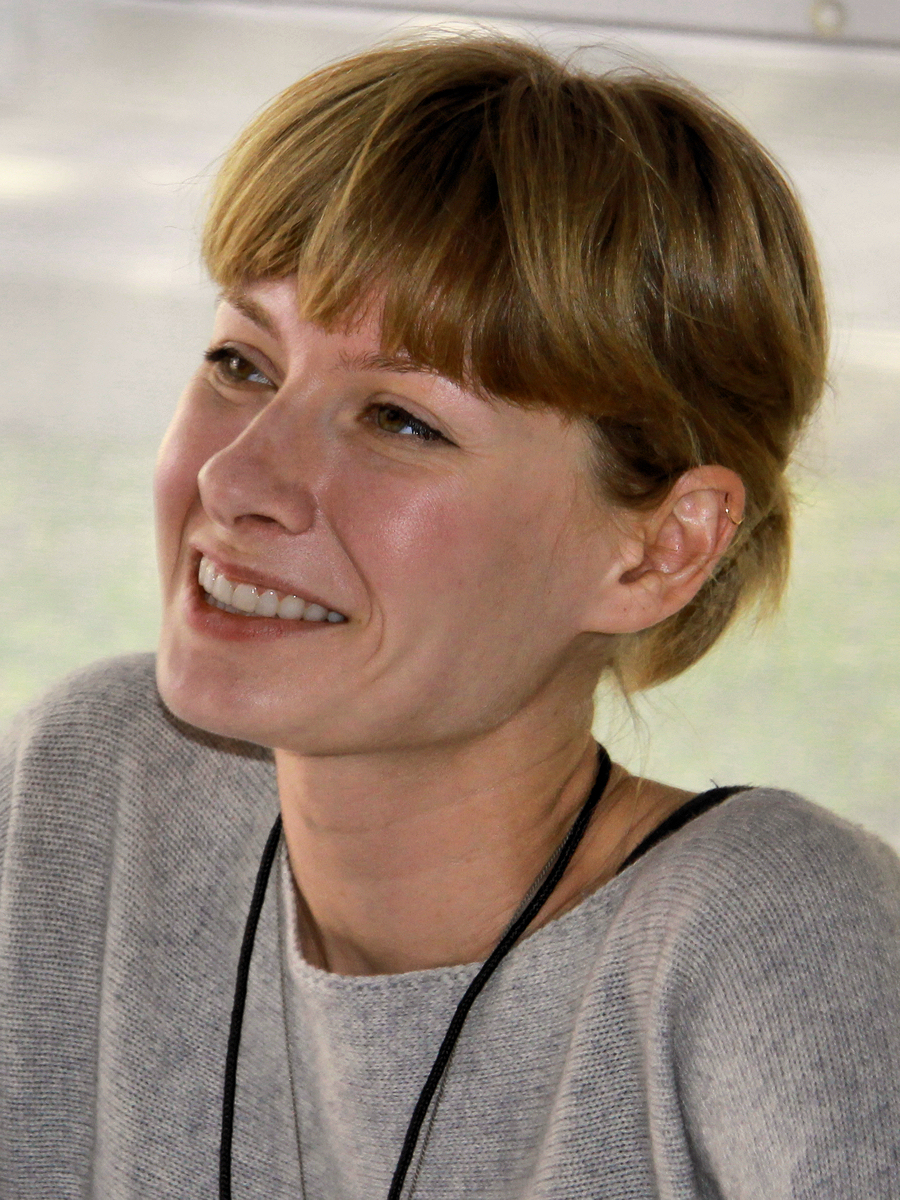 Hope Larson at the 2012 [[Texas Book Festival