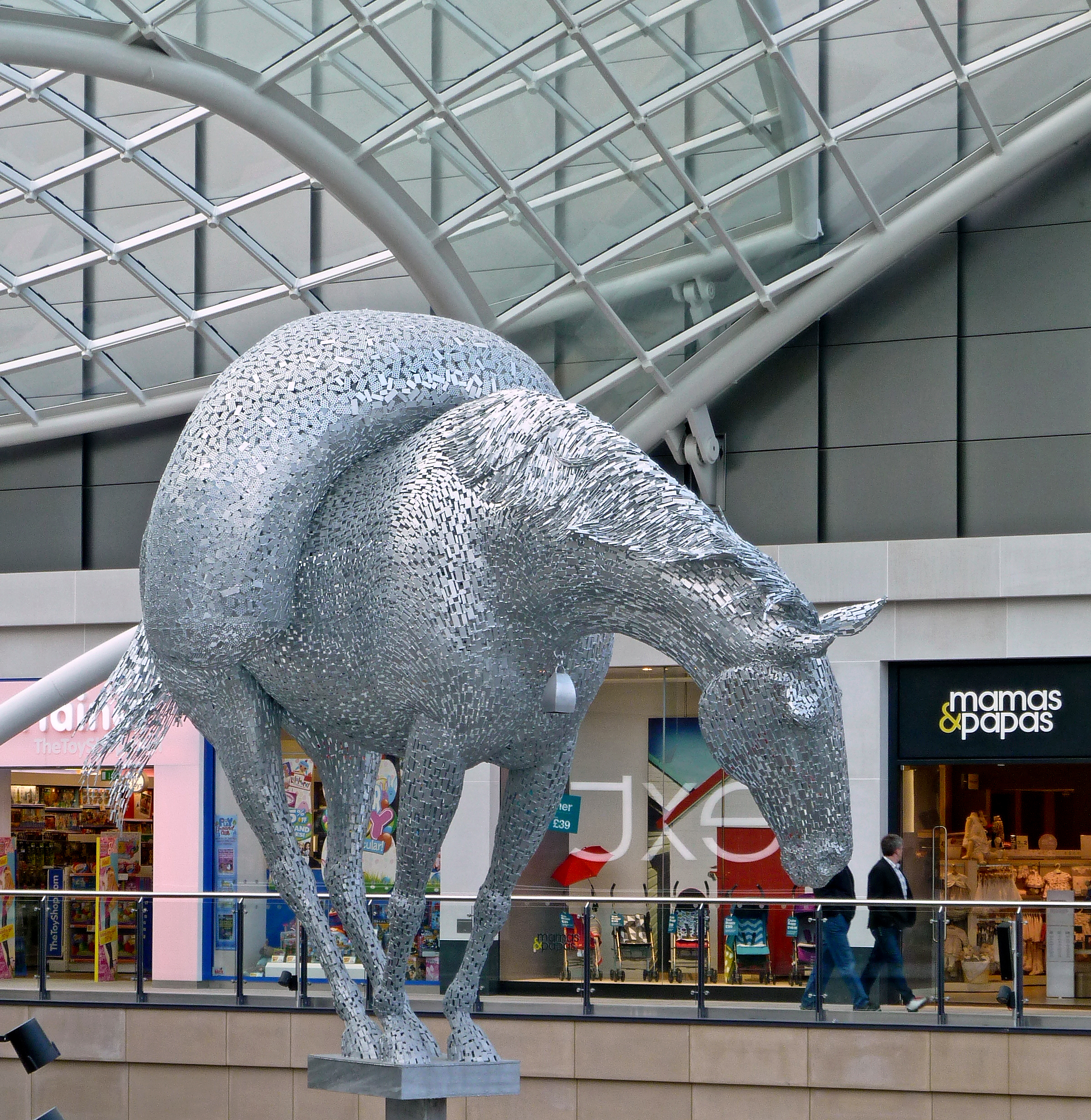 File Horse Sculpture In The Trinity Centre Leeds Taken