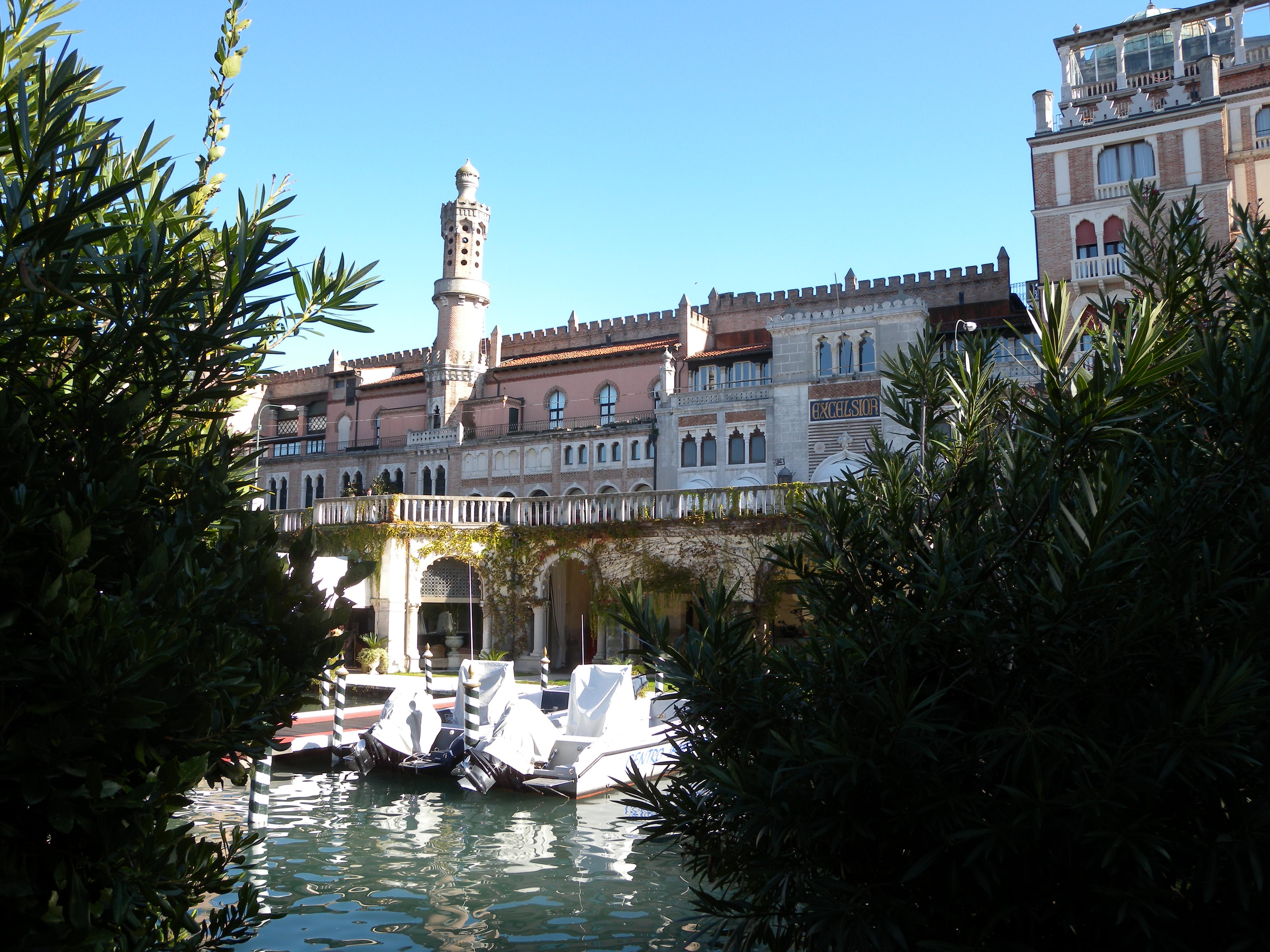 Hotel Excelsior, Venecia. Excelsior Hotel Venecia.
