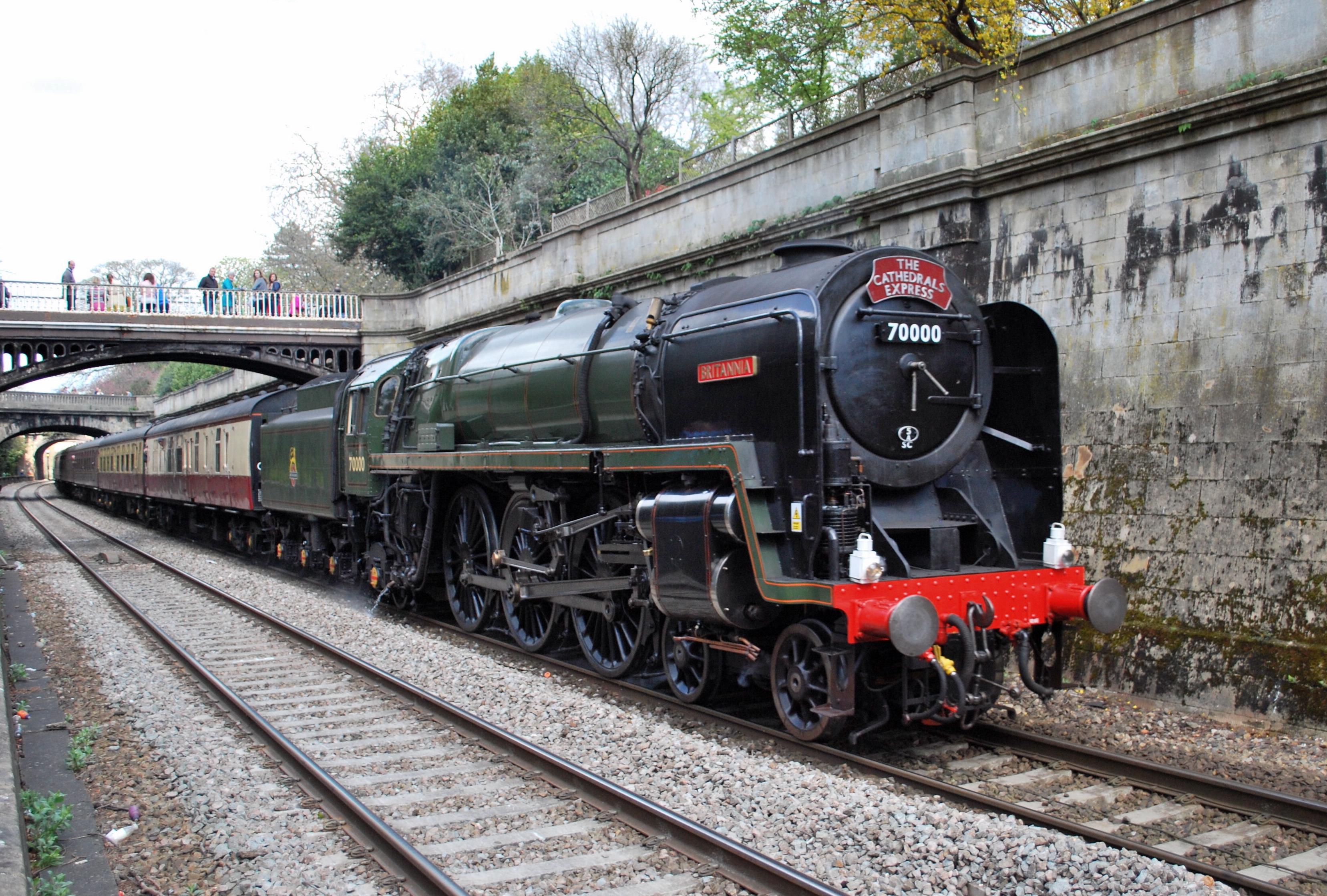 BR Standard Class 7 70000 Britannia - Wikipedia