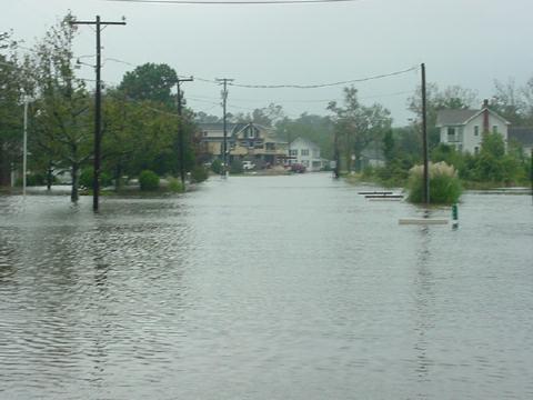 North Carolina Flooding of City