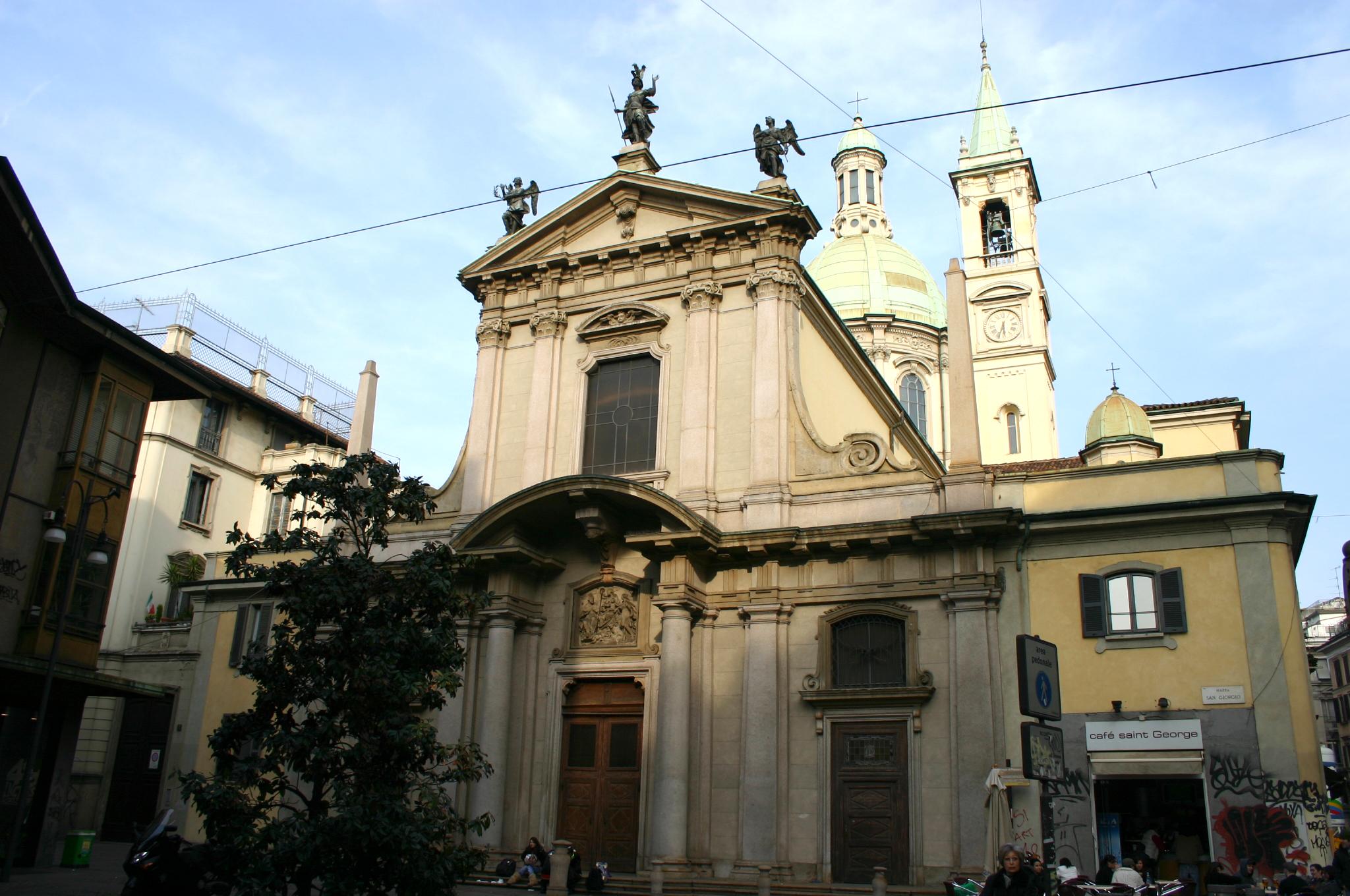 File img 5127 milano san giorgio al palazzo foto for Giorgio iv milano