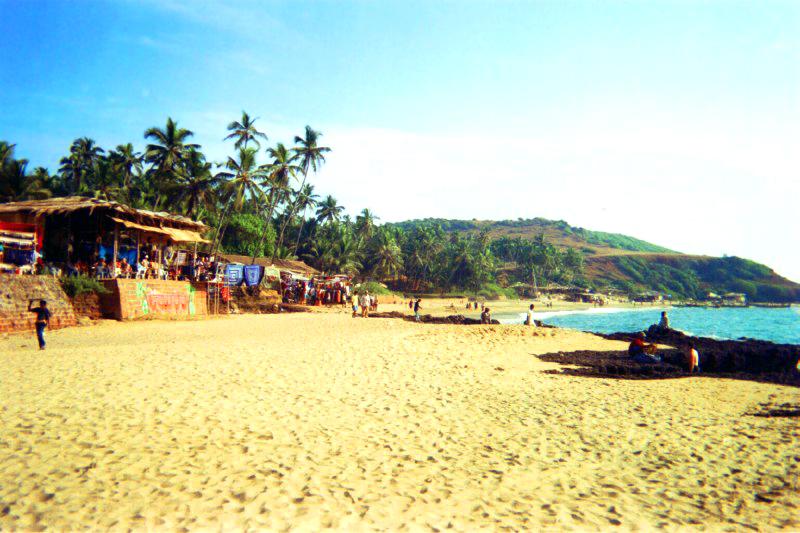 「Goa Anjuna beach」的圖片搜尋結果