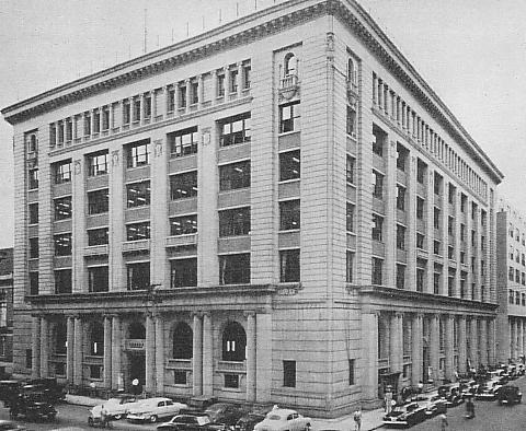 Industrial Bank of Japan Head Office in 1950s