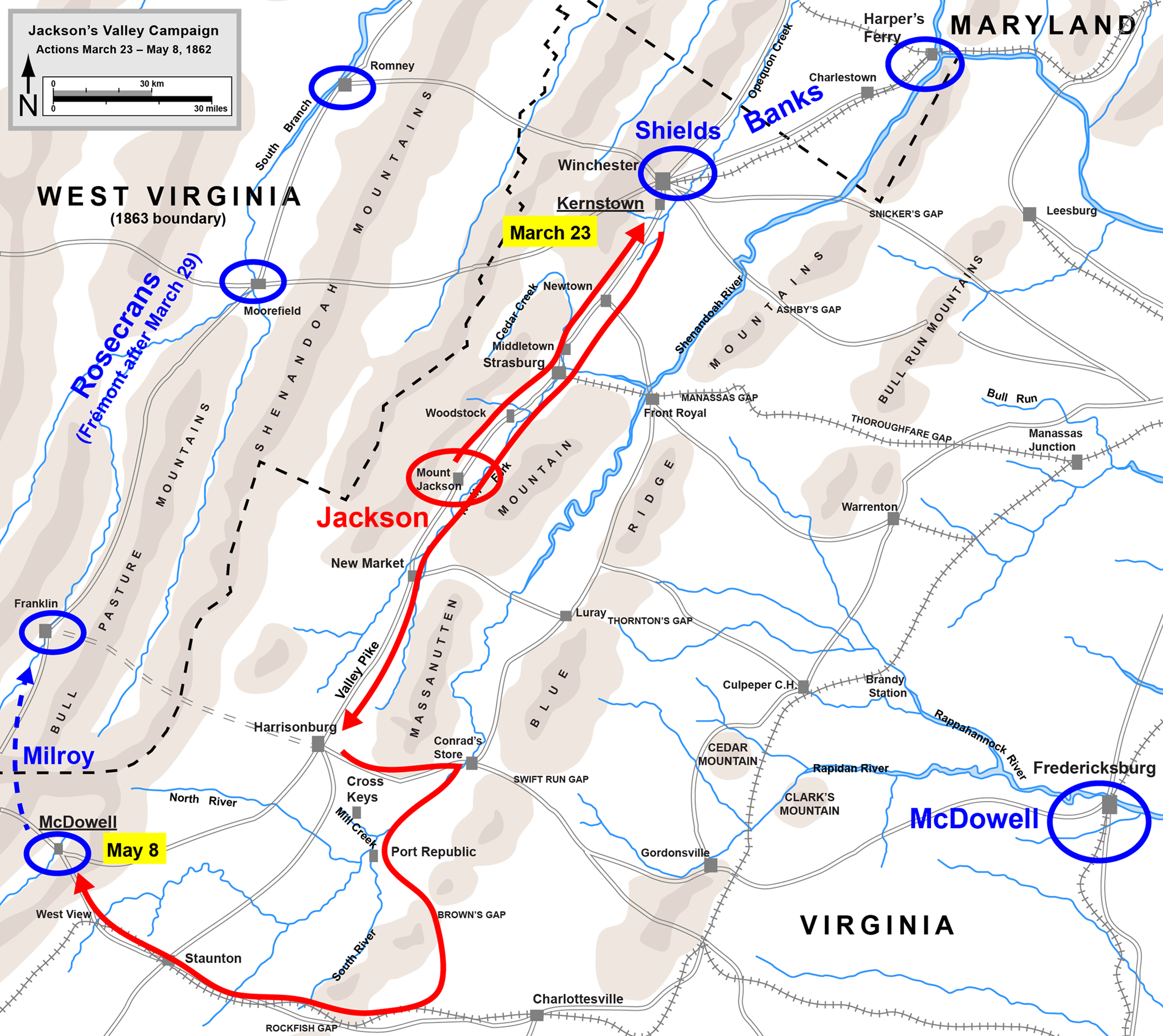 FileJackson Valley Campaign Part1png  Wikimedia Commons