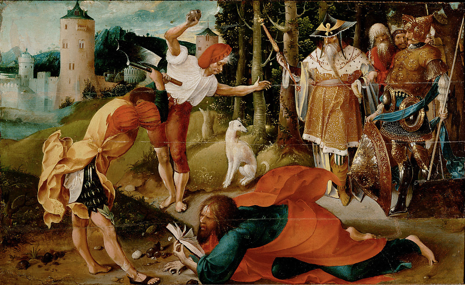 The Martyrdom of the Apostle St.Matthew