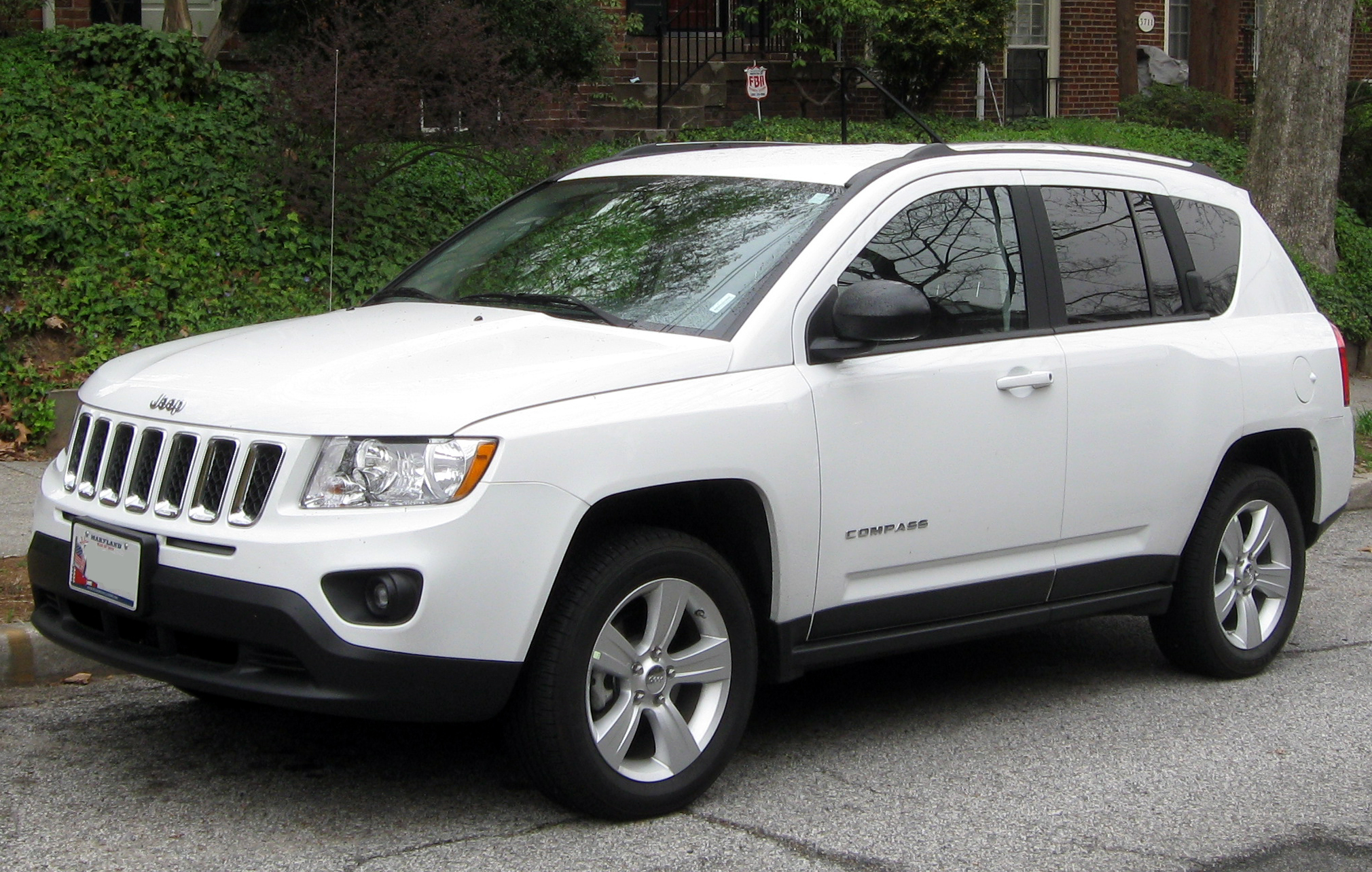 file jeep compass 03 21 2012 2 jpg wikimedia commons. Black Bedroom Furniture Sets. Home Design Ideas