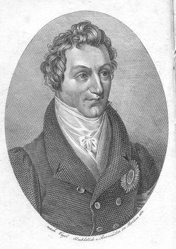 Jugendbildnis des Königs Johann von Sachsen (Stahlstich von 1831)