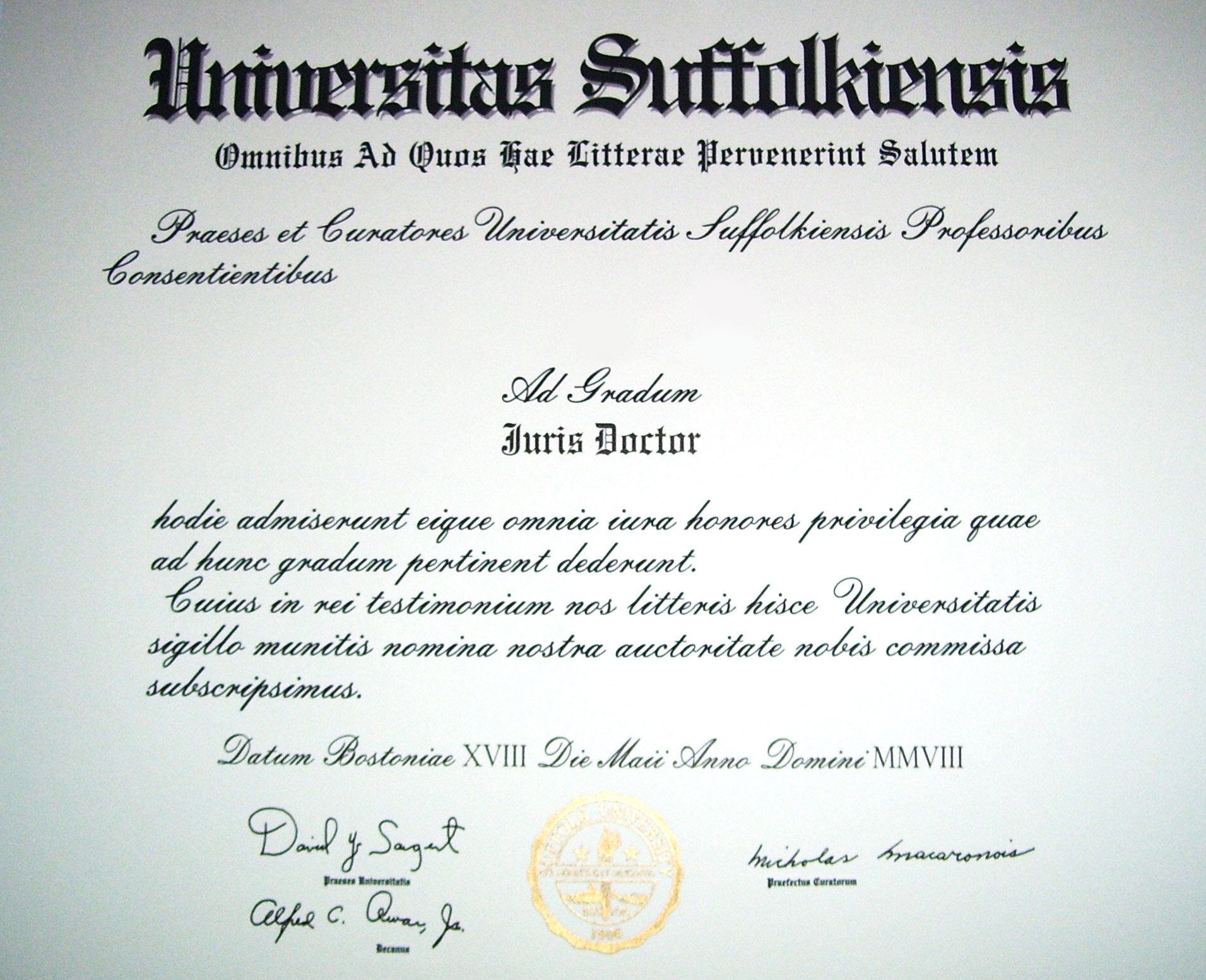 Master s degree thesis to graduate