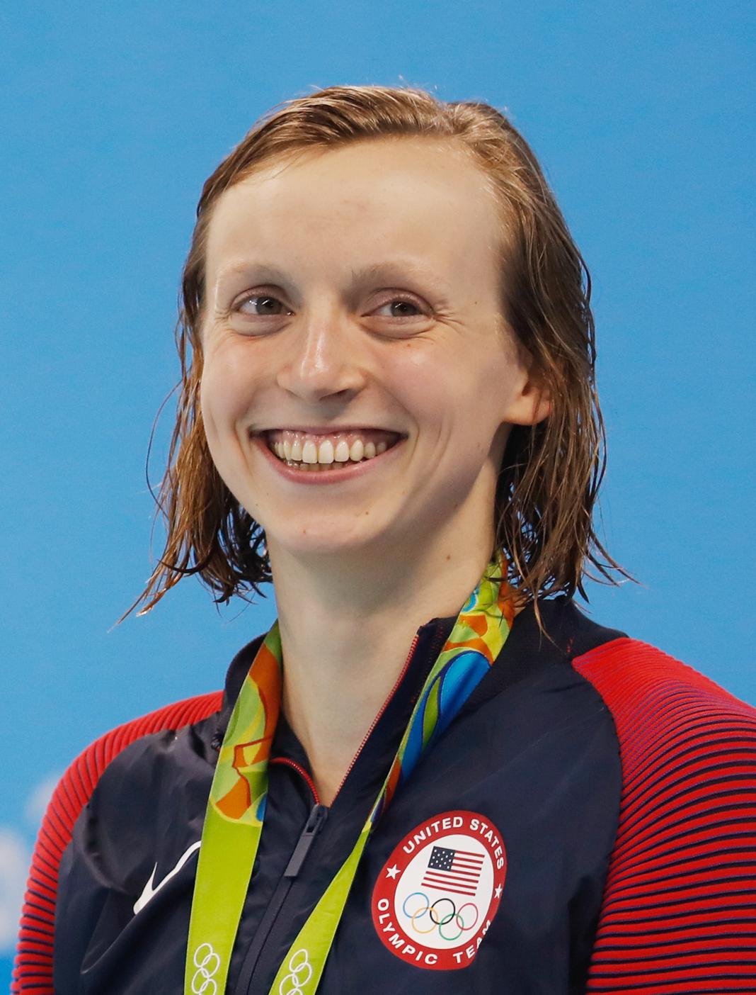 Katie Ledecky ai Giochi olimpici di Rio 2016, Fernando Frazão/Agência Brasil, 2016