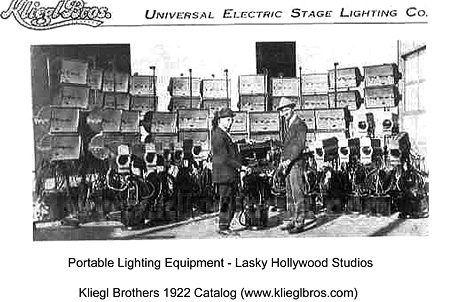 Kliegl Brothers Universal Electric Stage Lighting Company