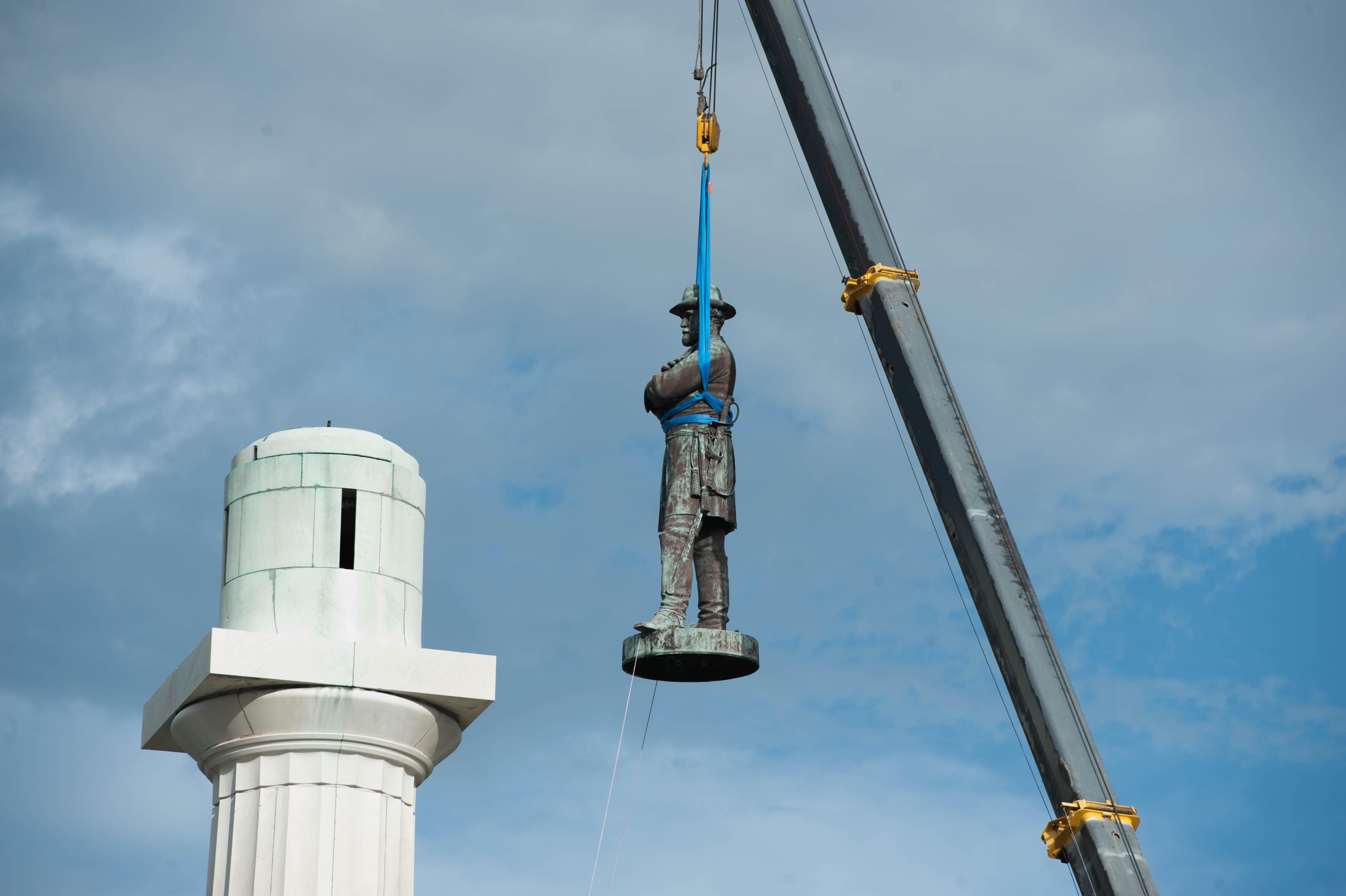 Image result for general lee statue removed