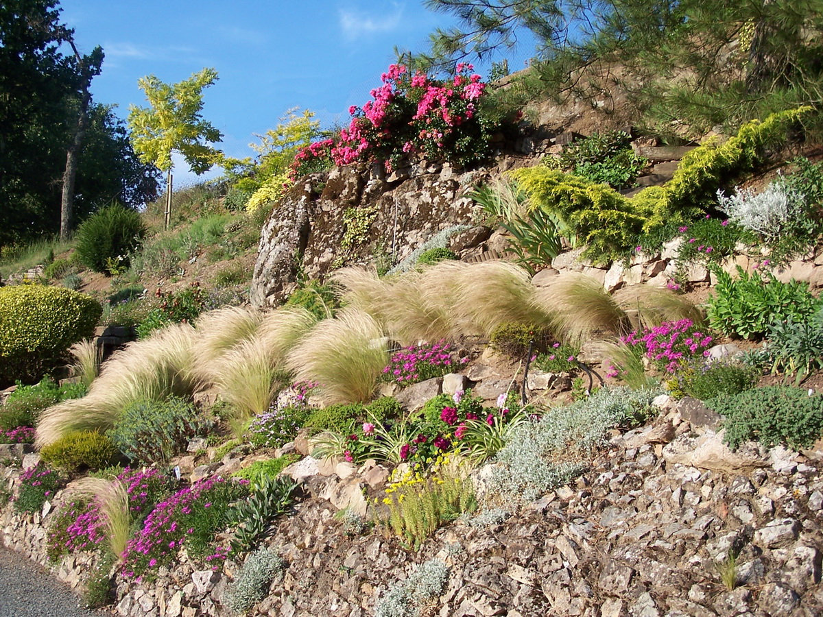 fichierles jardins du gue grande rocaillejpg wikipedia With good jardin de rocaille photos 1 les jardins du gue grande rocaille
