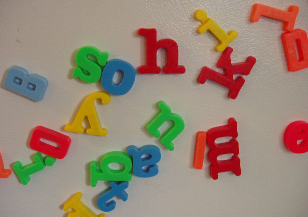 Magnetic Alphabet Letters Officeworks