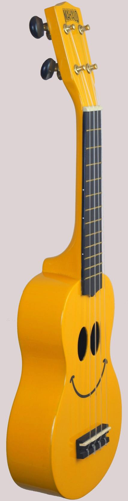 Chinese yellow smiley Ukulele