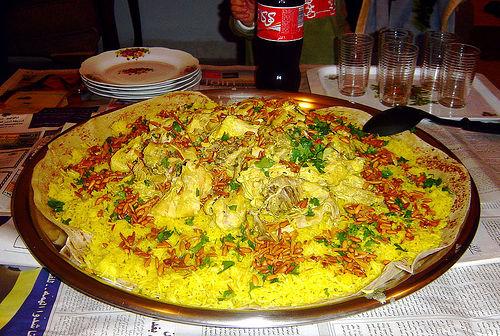 Recipe for mansaf lamb