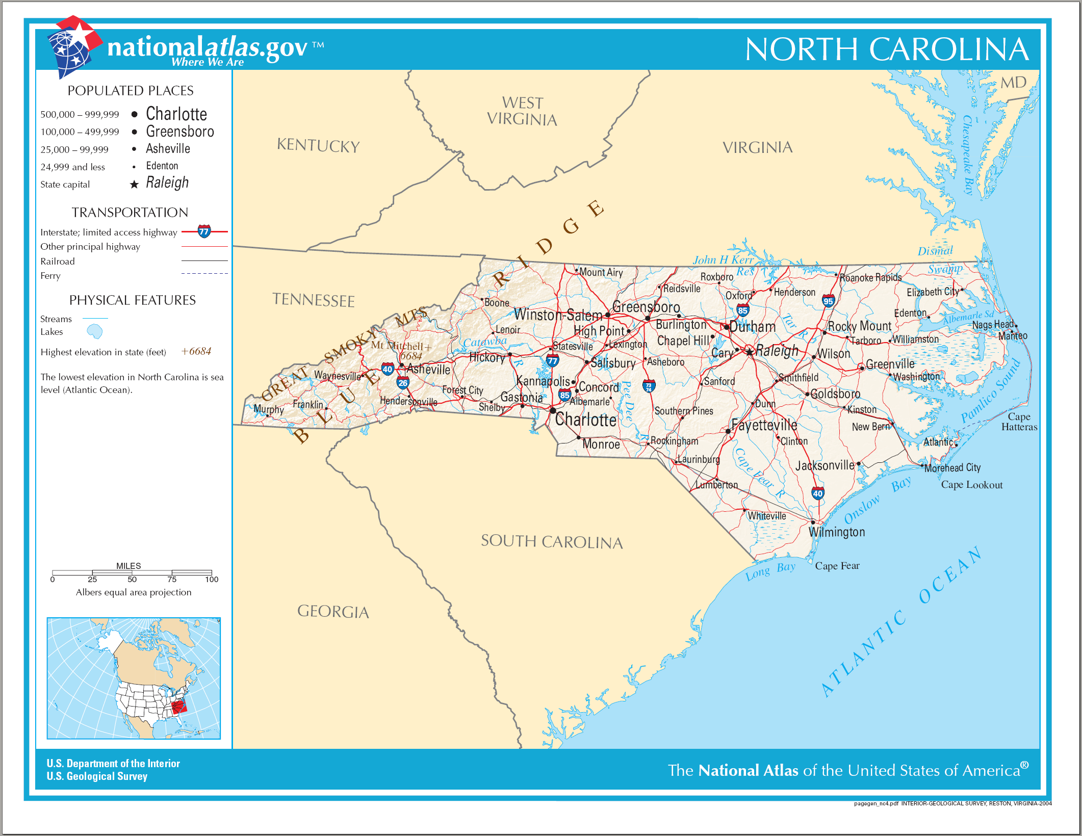 FileMap Of North Carolina NApng  Wikimedia Commons