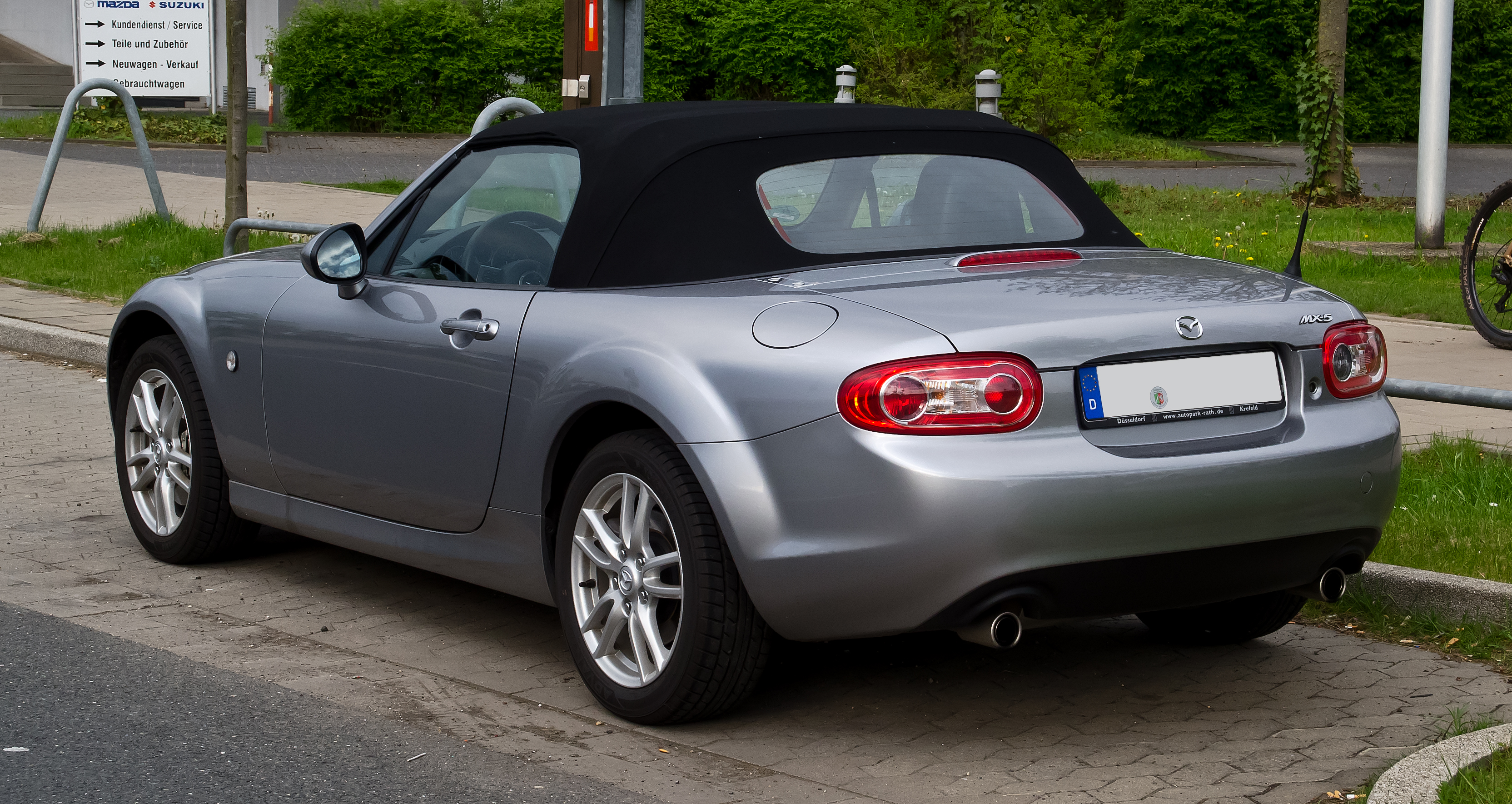 file mazda mx 5 roadster iii facelift heckansicht 1. Black Bedroom Furniture Sets. Home Design Ideas