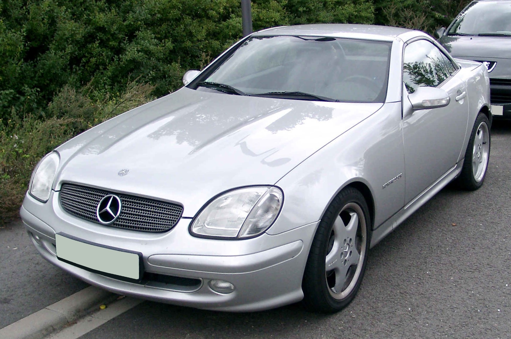 file mercedes benz r170 front