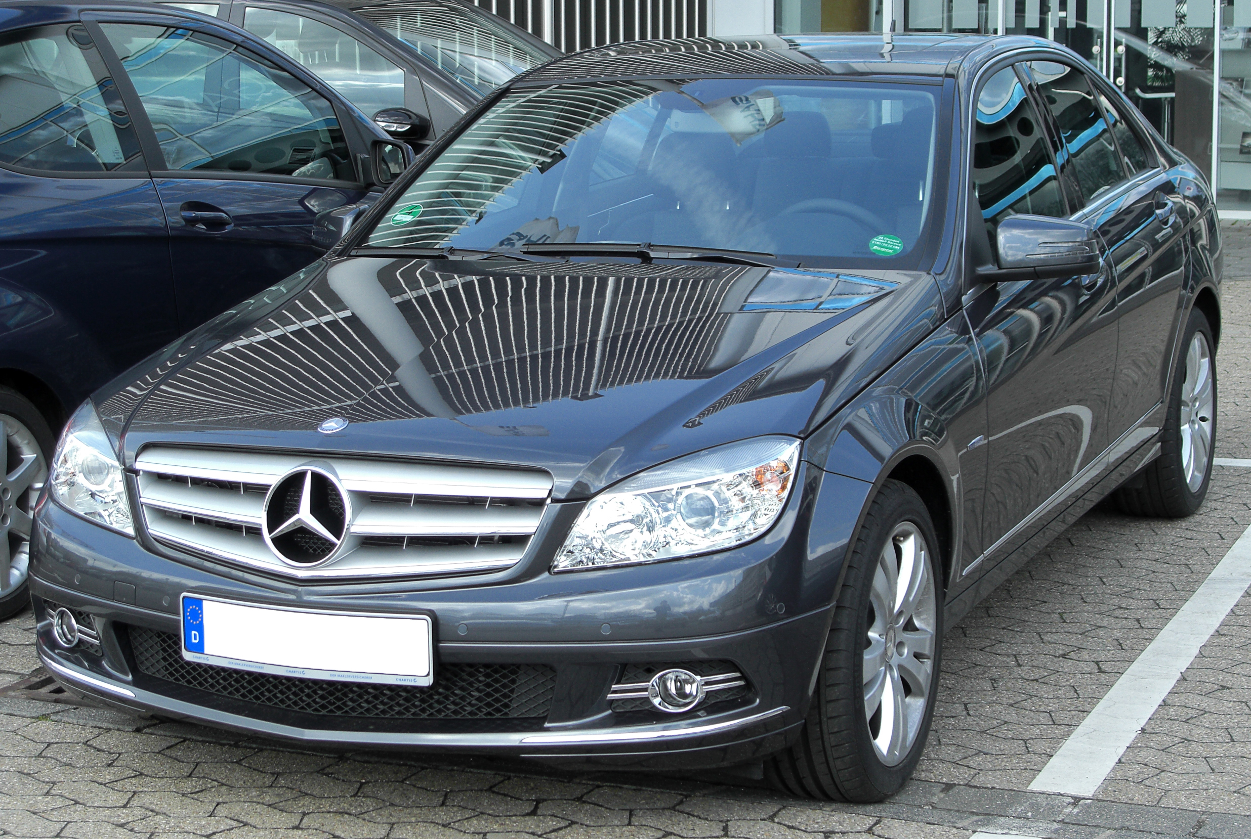 file mercedes c 180 kompressor blueefficiency avantgarde w204 front. Black Bedroom Furniture Sets. Home Design Ideas