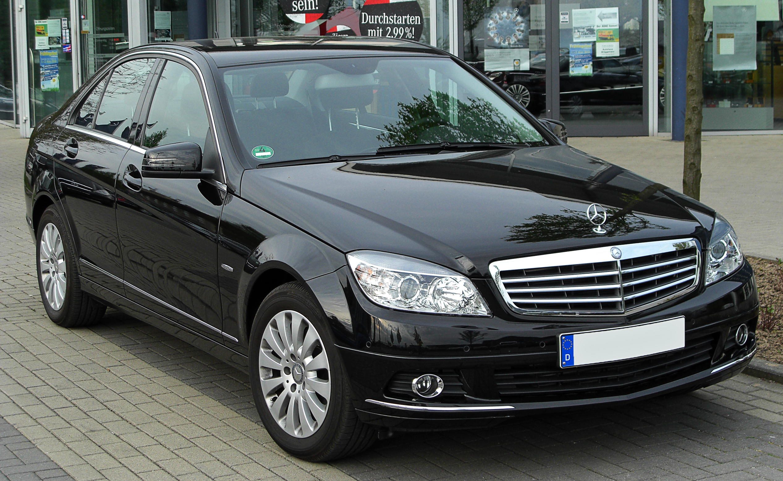 file mercedes c 200 kompressor elegance w204 front. Black Bedroom Furniture Sets. Home Design Ideas