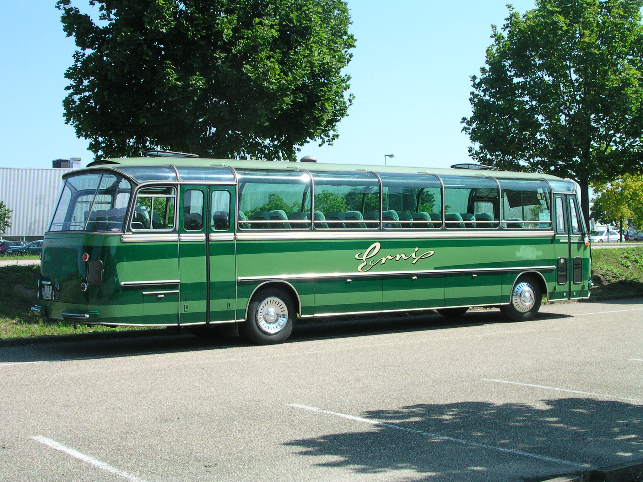 Details about 1984 drogmoller mercedes benz tour bus for Mercedes benz tour bus
