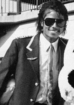 Michael Jackson en abril de 1984.