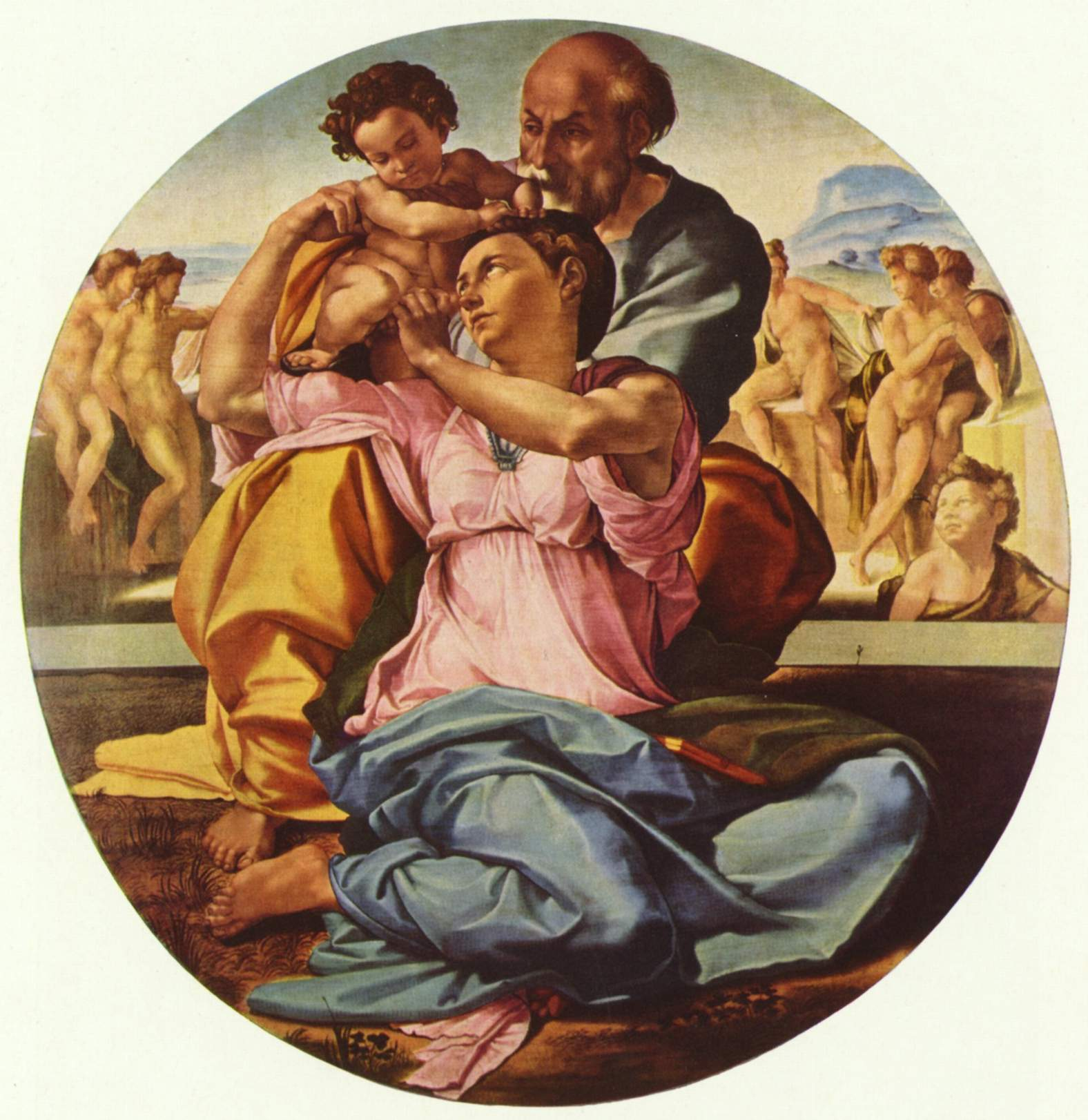 a description of the expressions of michelangelo buonarroti Find out more about the history of michelangelo michelangelo buonarroti scholars debate whether this was more an expression of homosexuality or a.