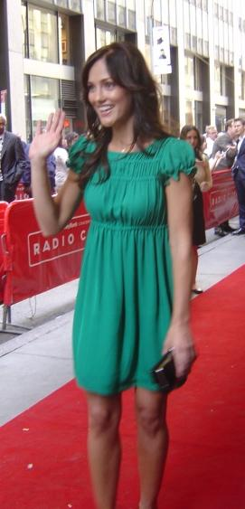 Minka Kelly at 2007 NBC Upfronts